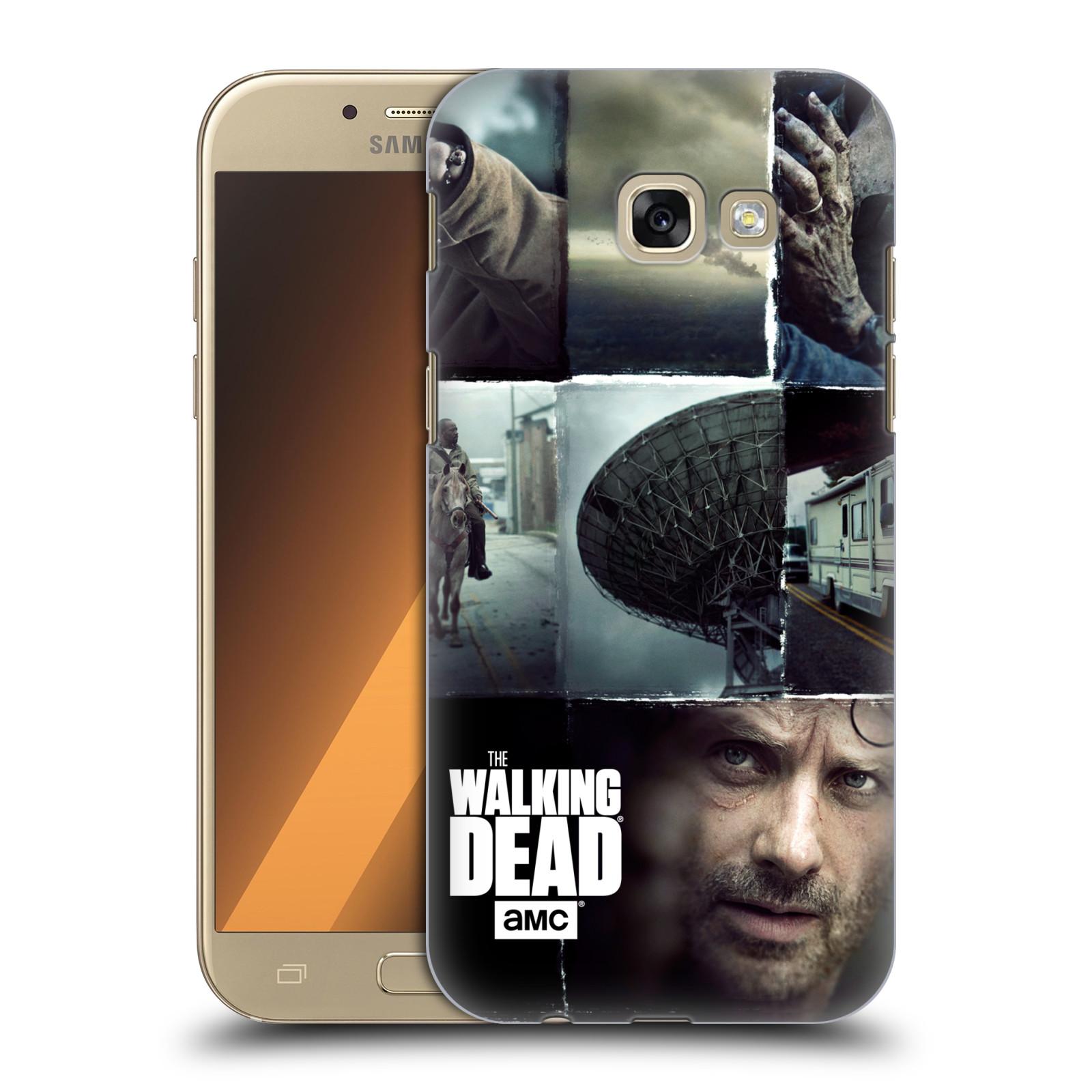 Plastové pouzdro na mobil Samsung Galaxy A5 (2017) HEAD CASE Živí mrtví - Koláž