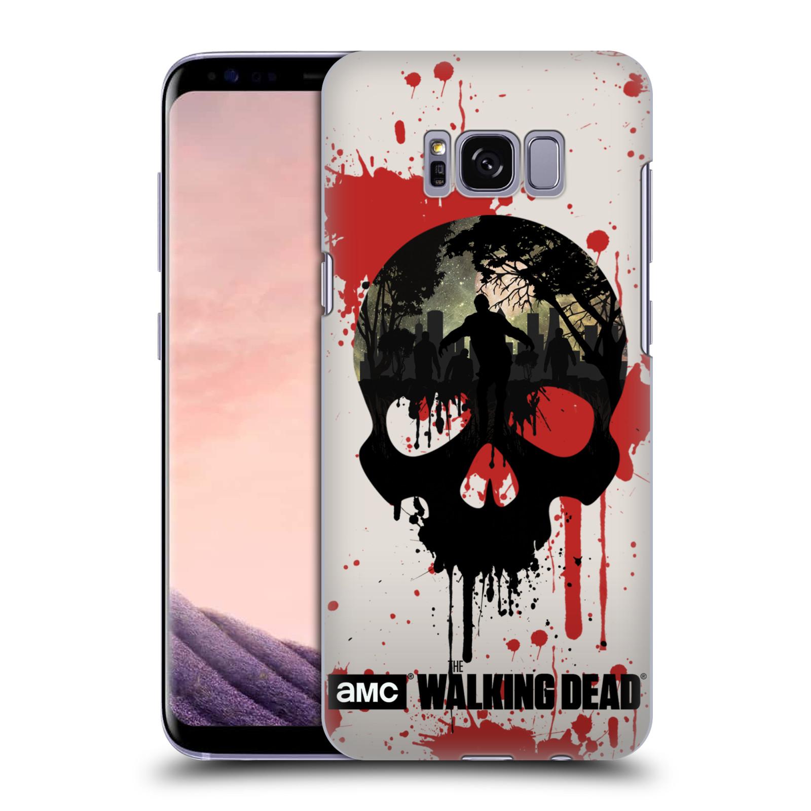 Plastové pouzdro na mobil Samsung Galaxy S8 Head Case Živí mrtví - Lebka