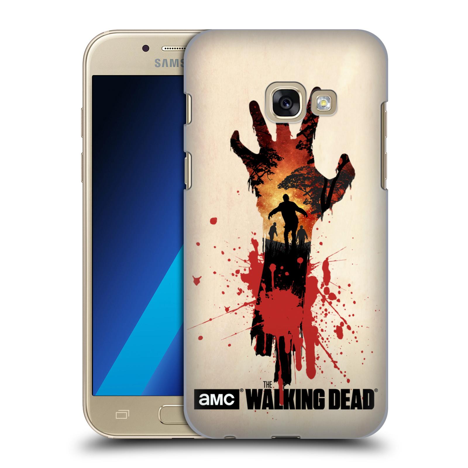 Plastové pouzdro na mobil Samsung Galaxy A3 (2017) HEAD CASE Živí mrtví - Ruka