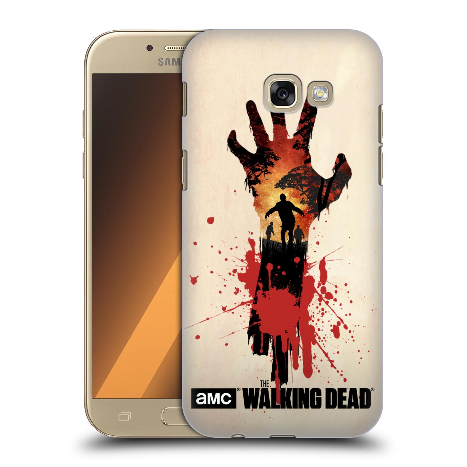 Plastové pouzdro na mobil Samsung Galaxy A5 (2017) HEAD CASE Živí mrtví - Ruka