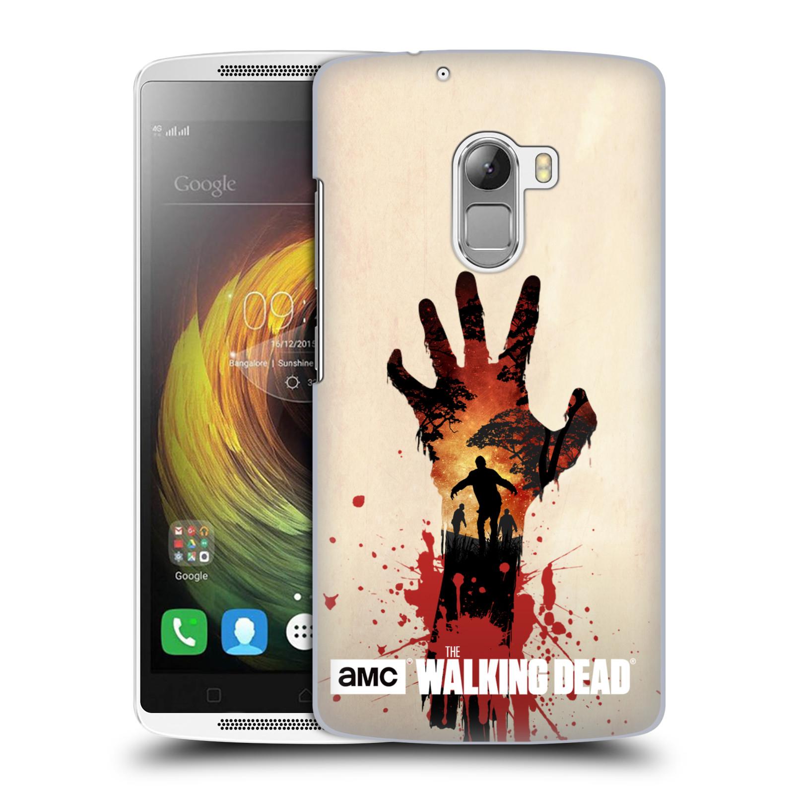 Plastové pouzdro na mobil Lenovo A7010 HEAD CASE Živí mrtví - Ruka