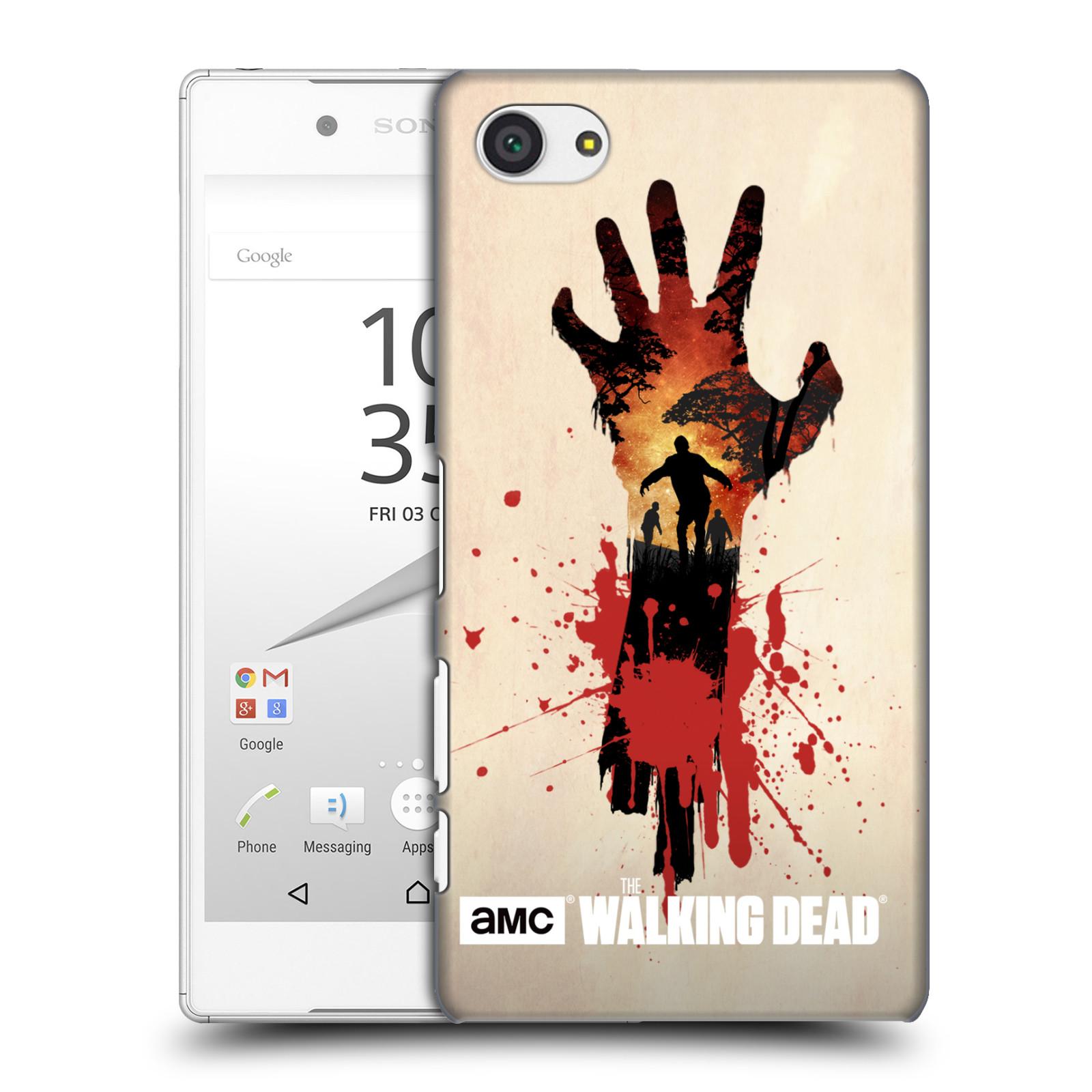 Plastové pouzdro na mobil Sony Xperia Z5 Compact HEAD CASE Živí mrtví - Ruka