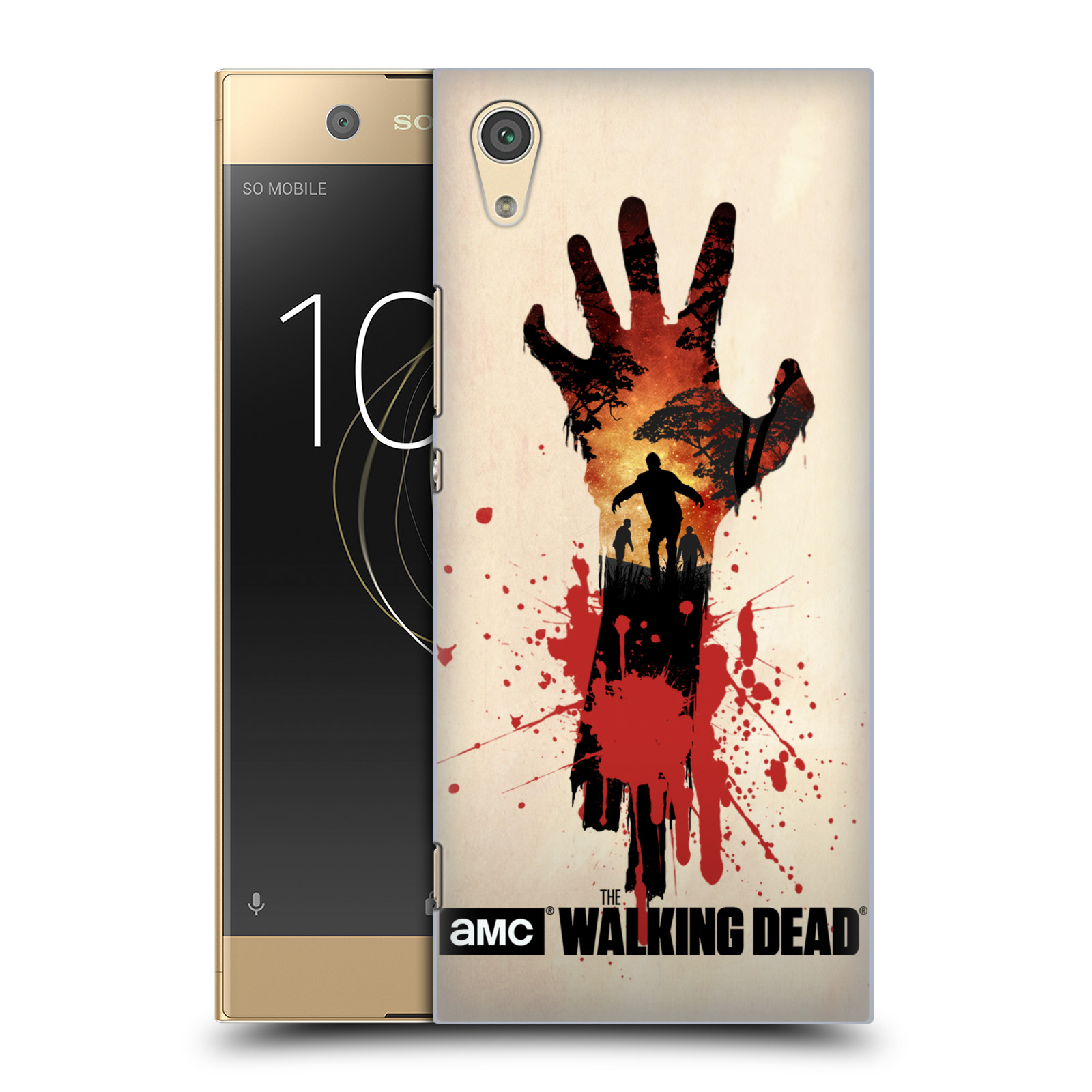 Plastové pouzdro na mobil Sony Xperia XA1 - Head Case - Živí mrtví - Ruka