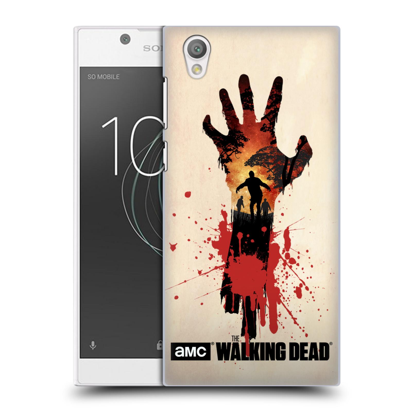 Plastové pouzdro na mobil Sony Xperia L1 - Head Case - Živí mrtví - Ruka