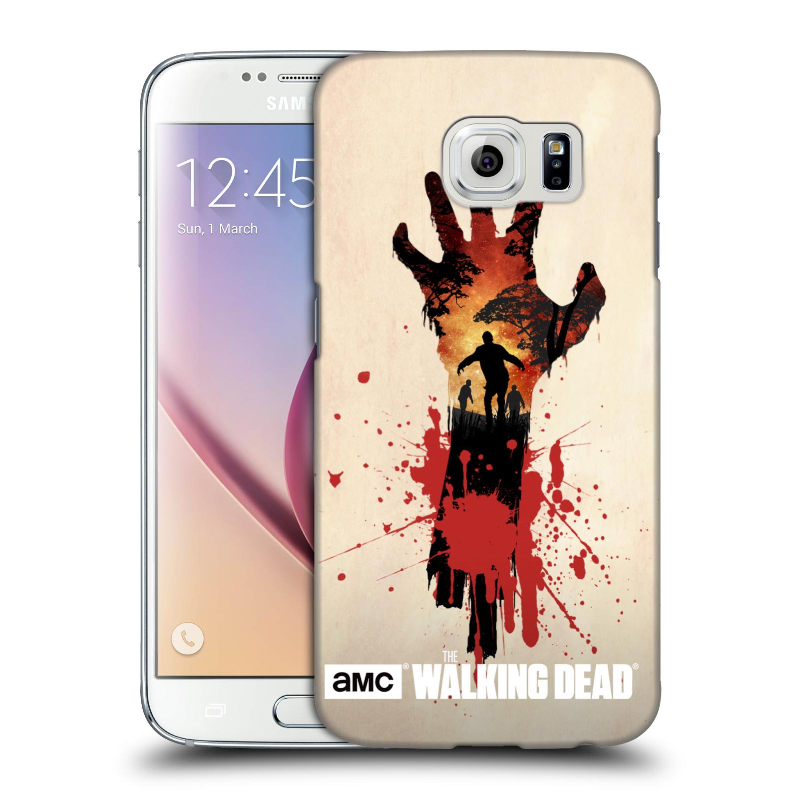 Plastové pouzdro na mobil Samsung Galaxy S6 HEAD CASE Živí mrtví - Ruka