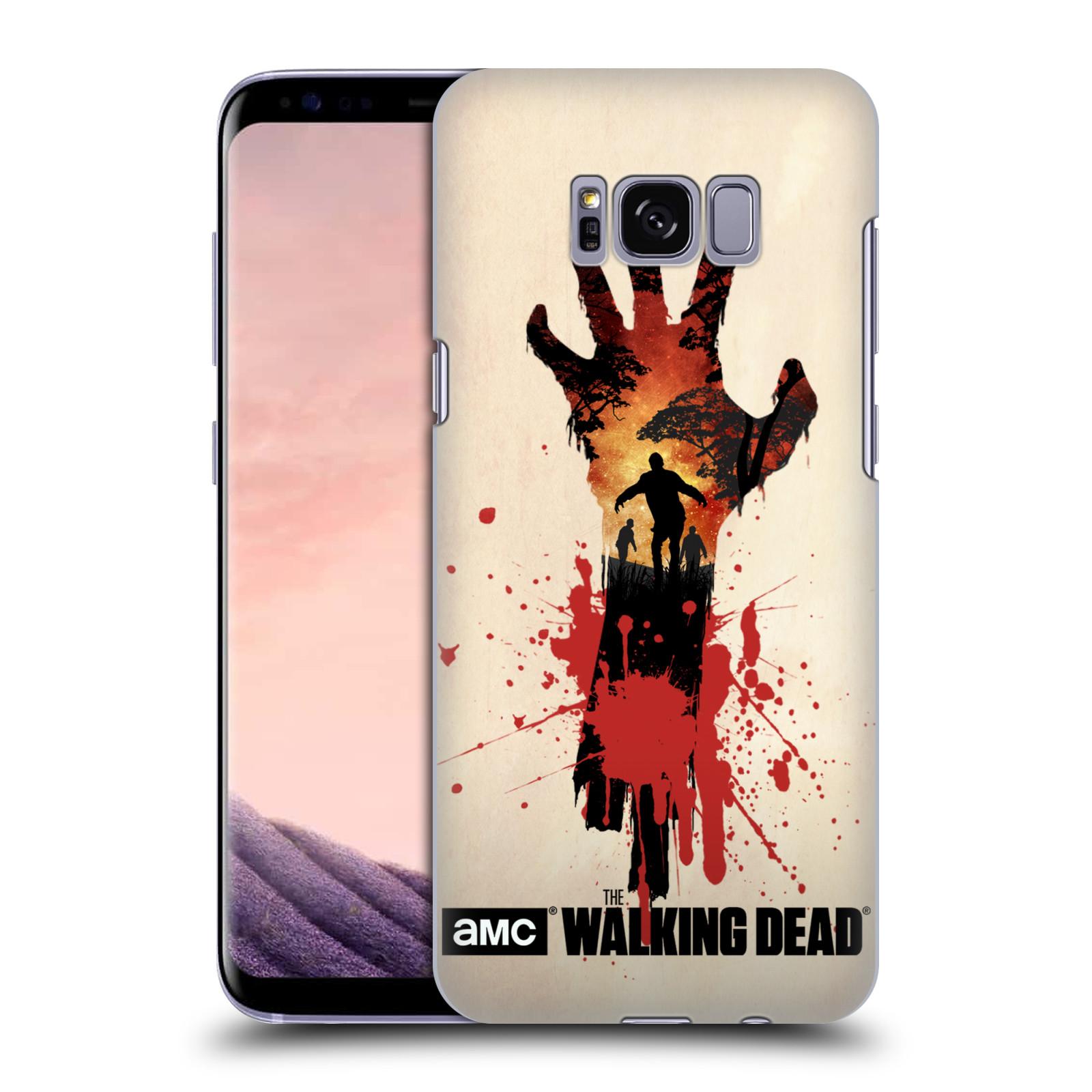 Plastové pouzdro na mobil Samsung Galaxy S8 Head Case Živí mrtví - Ruka