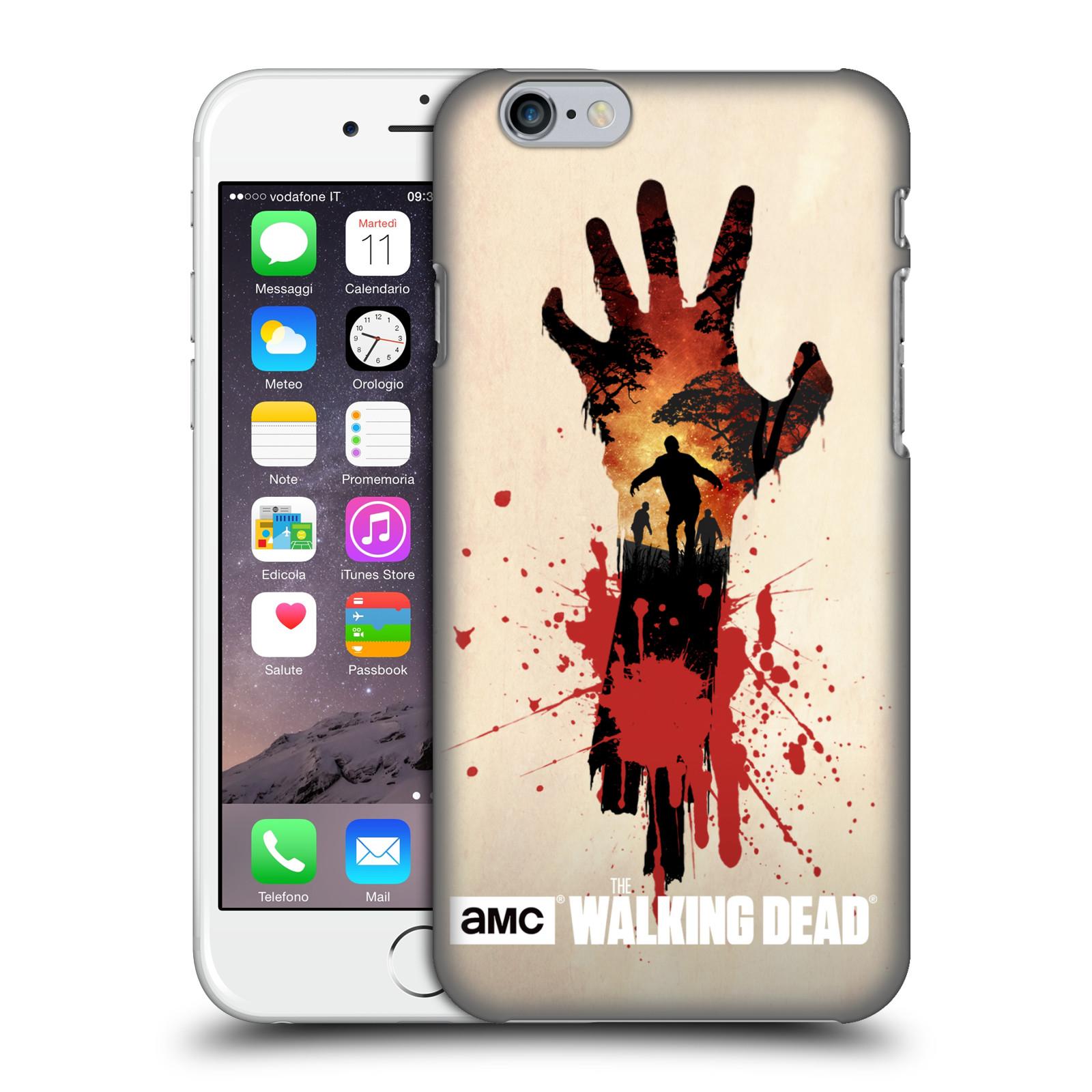 Plastové pouzdro na mobil Apple iPhone 6 HEAD CASE Živí mrtví - Ruka