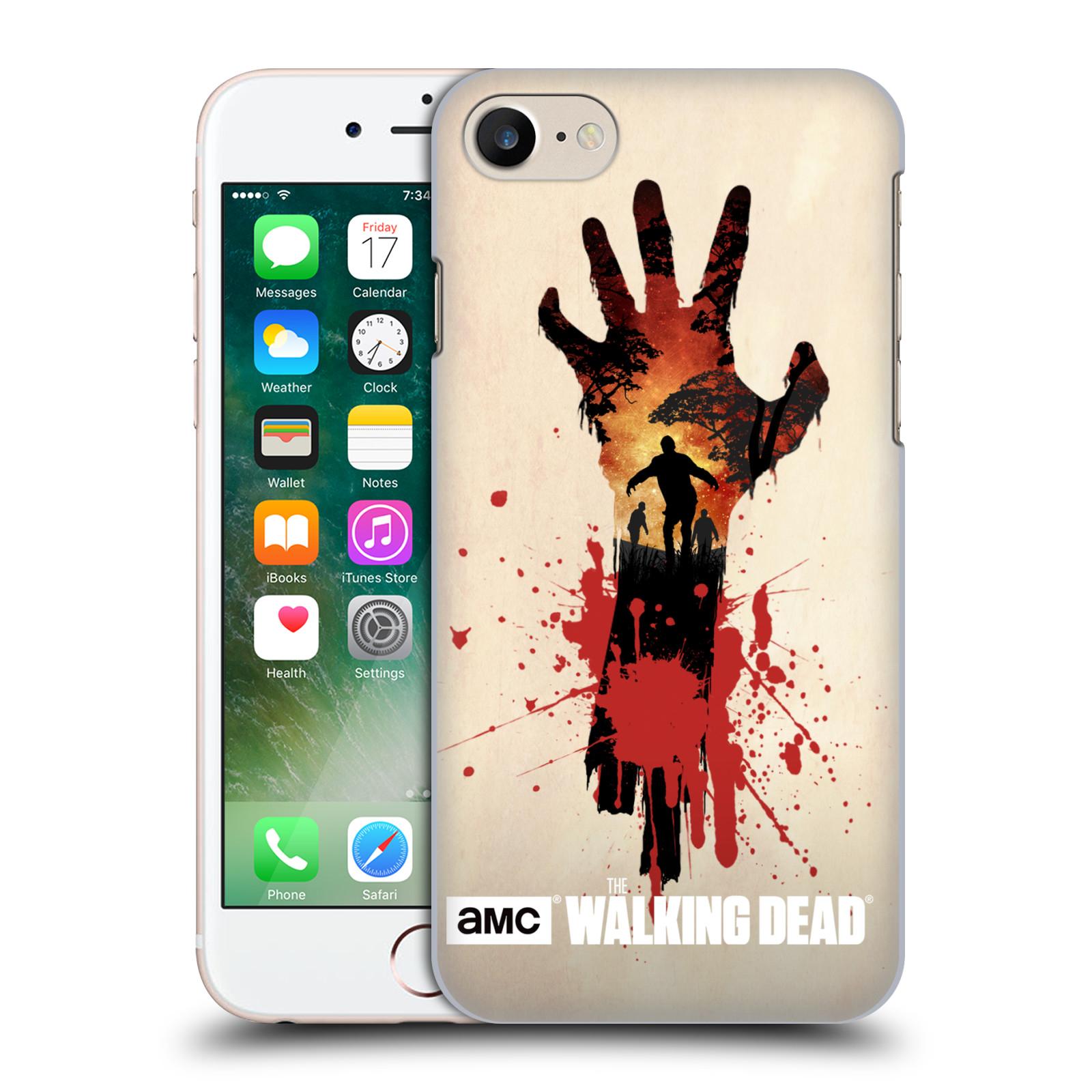 Plastové pouzdro na mobil Apple iPhone 7 HEAD CASE Živí mrtví - Ruka