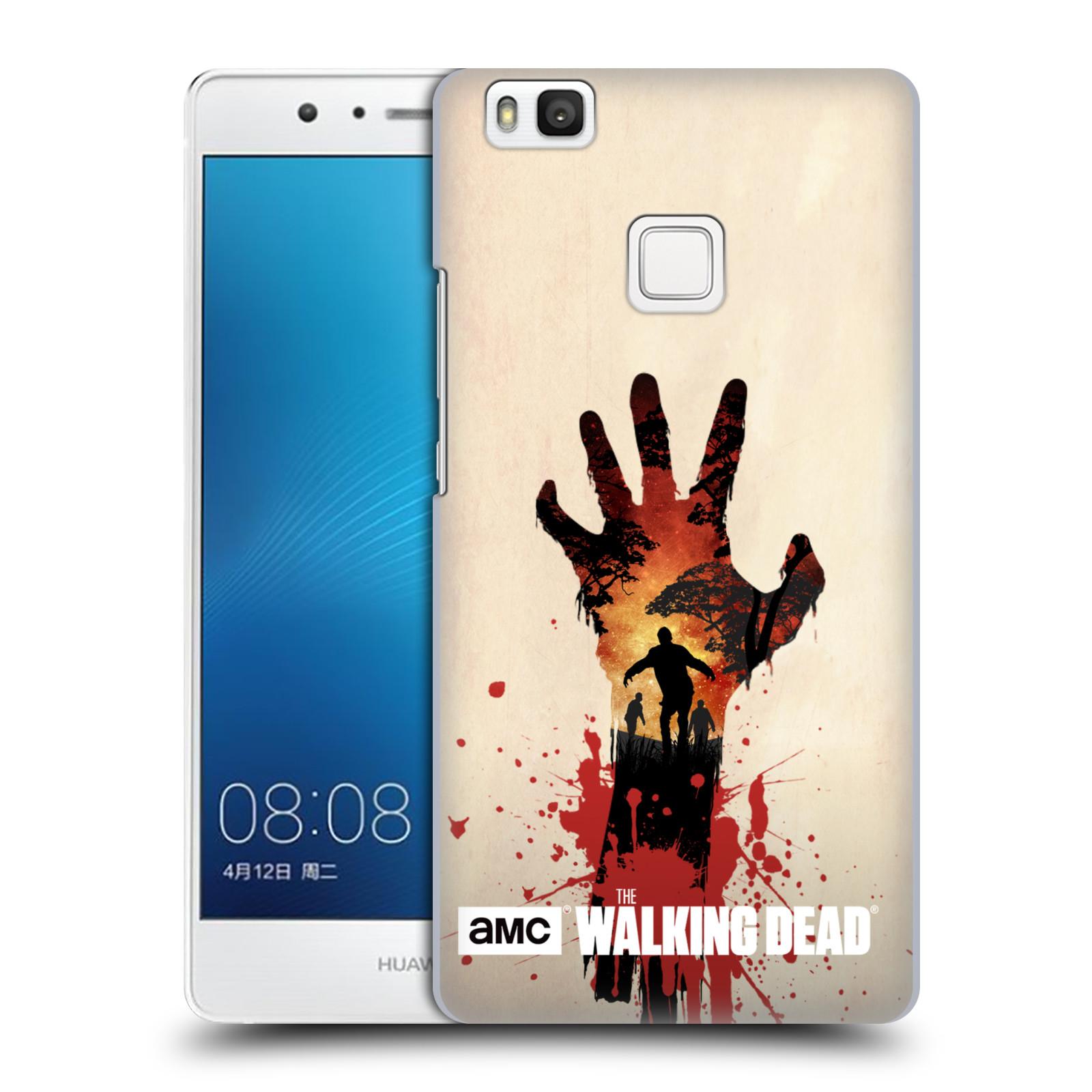 Plastové pouzdro na mobil Huawei P9 Lite HEAD CASE Živí mrtví - Ruka