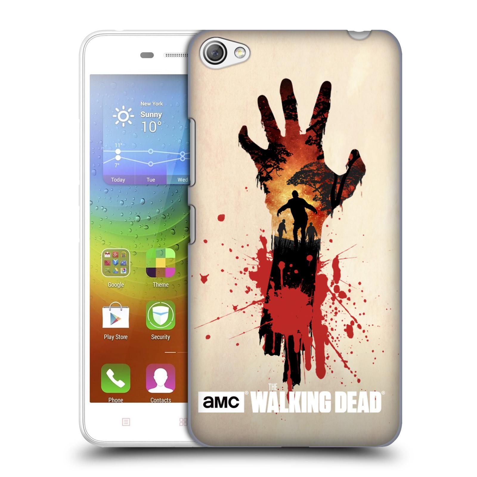 Plastové pouzdro na mobil Lenovo S60 HEAD CASE Živí mrtví - Ruka