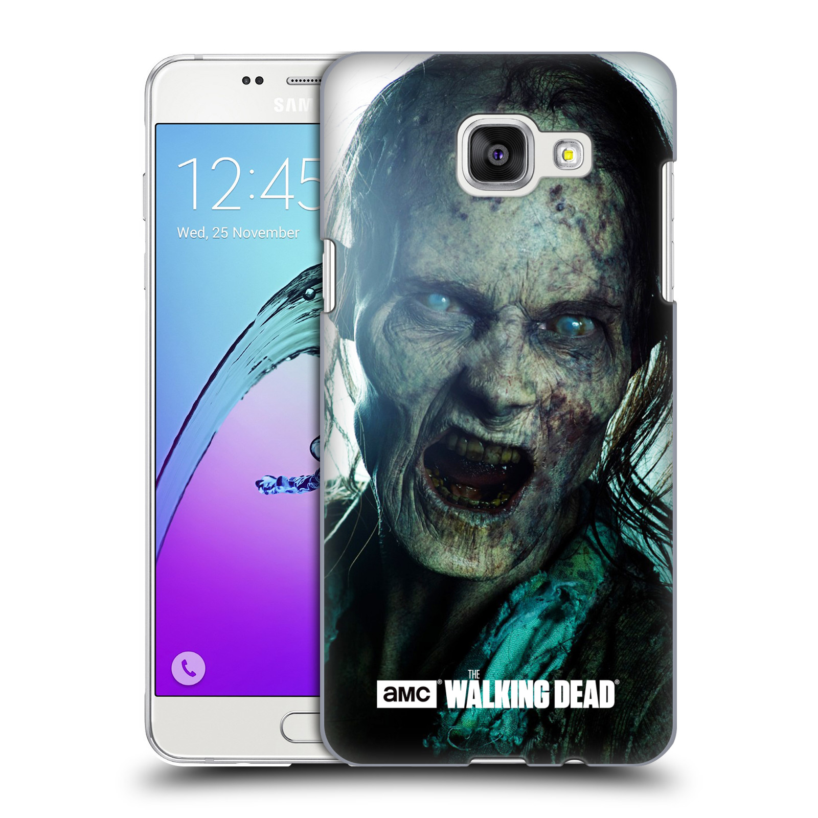 Plastové pouzdro na mobil Samsung Galaxy A5 (2016) HEAD CASE The Walking Dead - Walker Bite