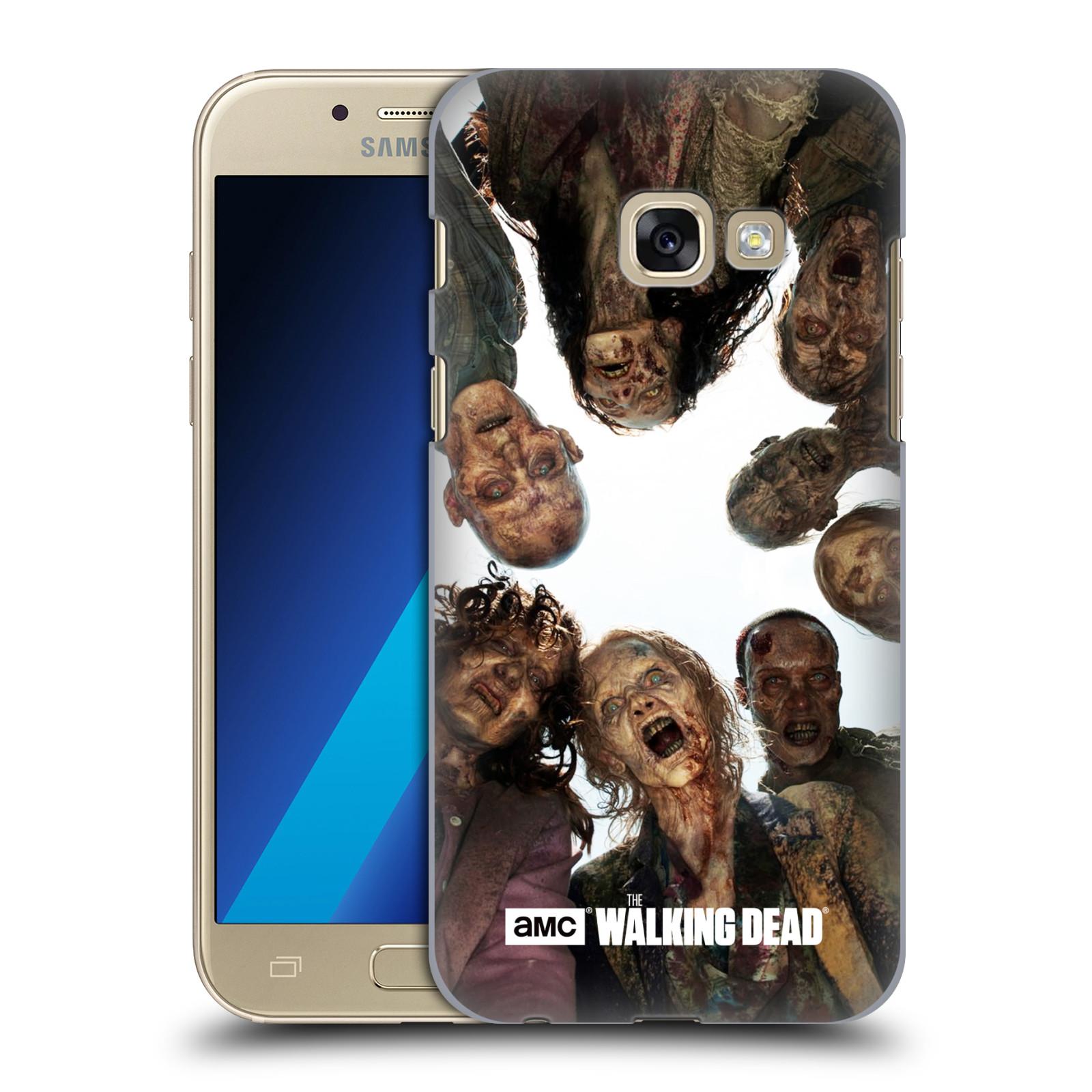 Plastové pouzdro na mobil Samsung Galaxy A3 (2017) HEAD CASE Živí mrtví - Walkers Group