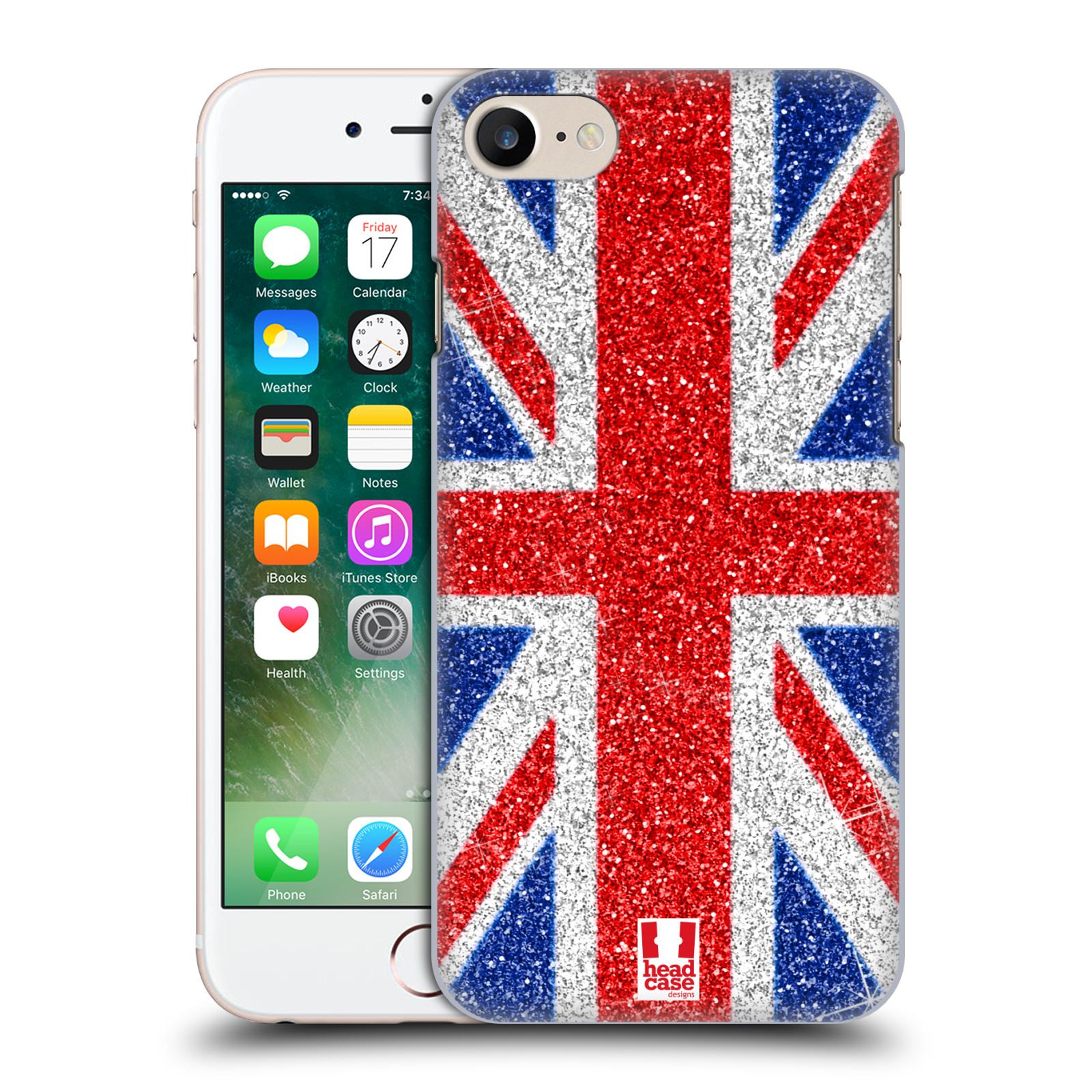 Plastové pouzdro na mobil Apple iPhone 7 HEAD CASE UNION GLITTER (Plastový kryt či obal na mobilní telefon Apple iPhone 7)