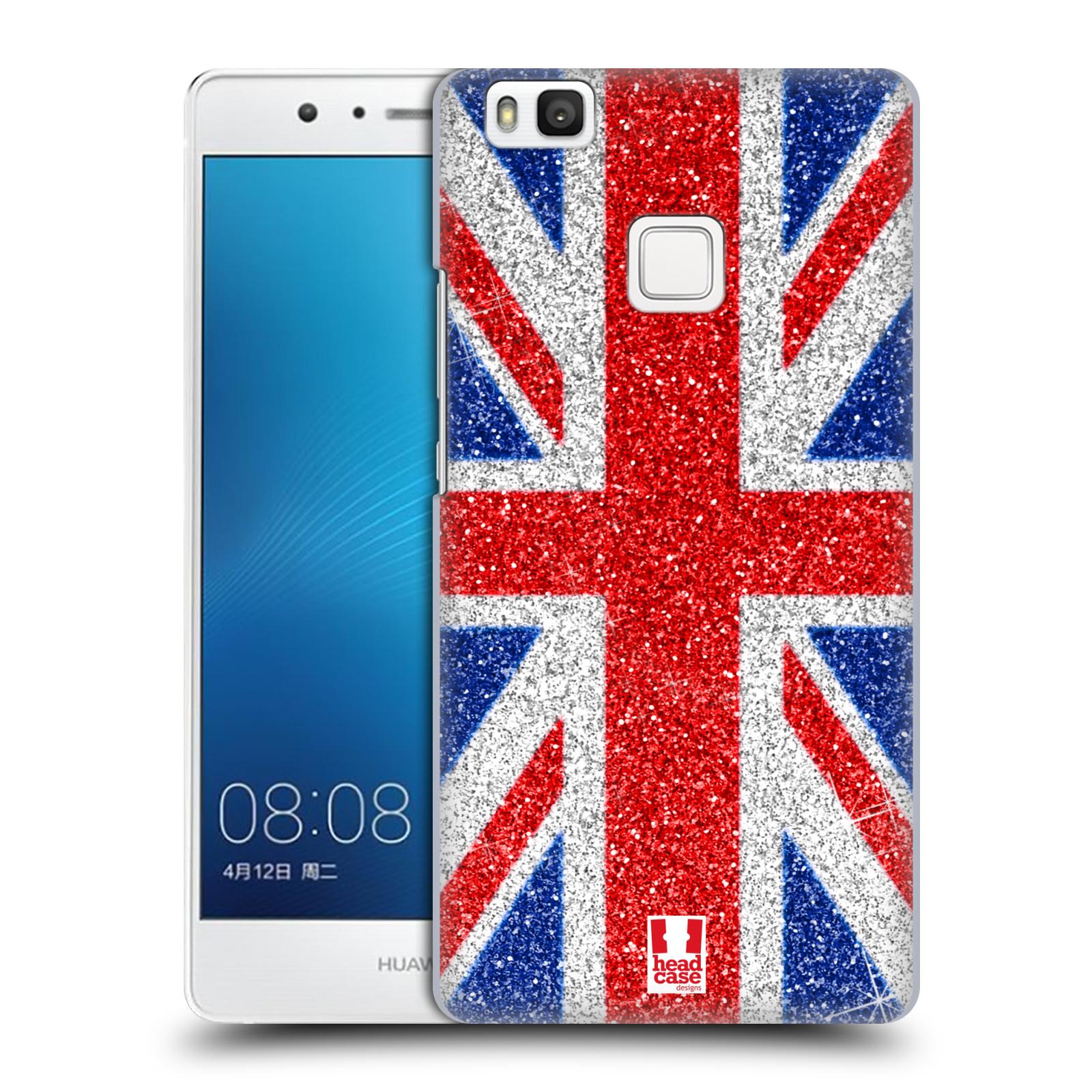 Plastové pouzdro na mobil Huawei P9 Lite HEAD CASE UNION GLITTER