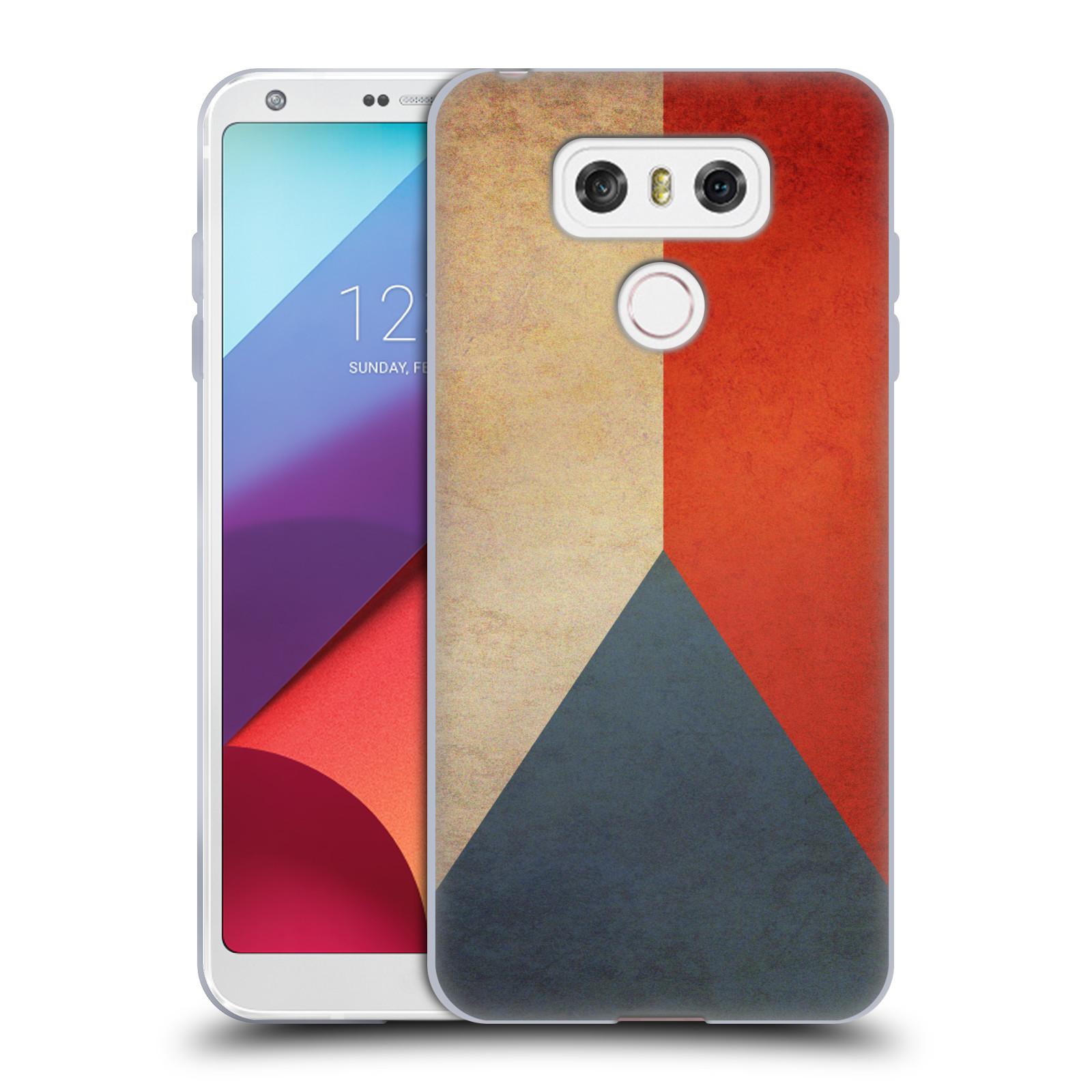 Silikonové pouzdro na mobil LG G6 - Head Case VLAJKA ČESKÁ REPUBLIKA (Silikonový kryt či obal na mobilní telefon LG G6 H870 / LG G6 Dual SIM H870DS)