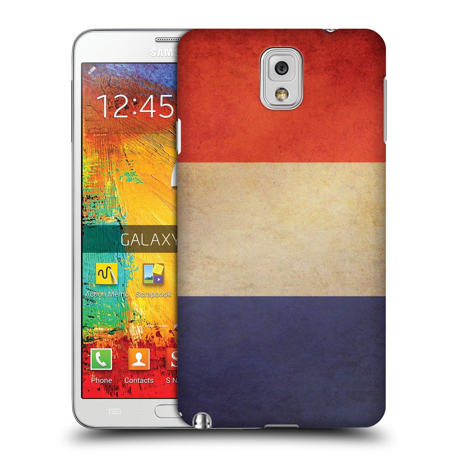 Plastové pouzdro na mobil Samsung Galaxy Note 3 HEAD CASE VLAJKA FRANCIE (Kryt či obal na mobilní telefon Samsung Galaxy Note 3 SM-N9005)