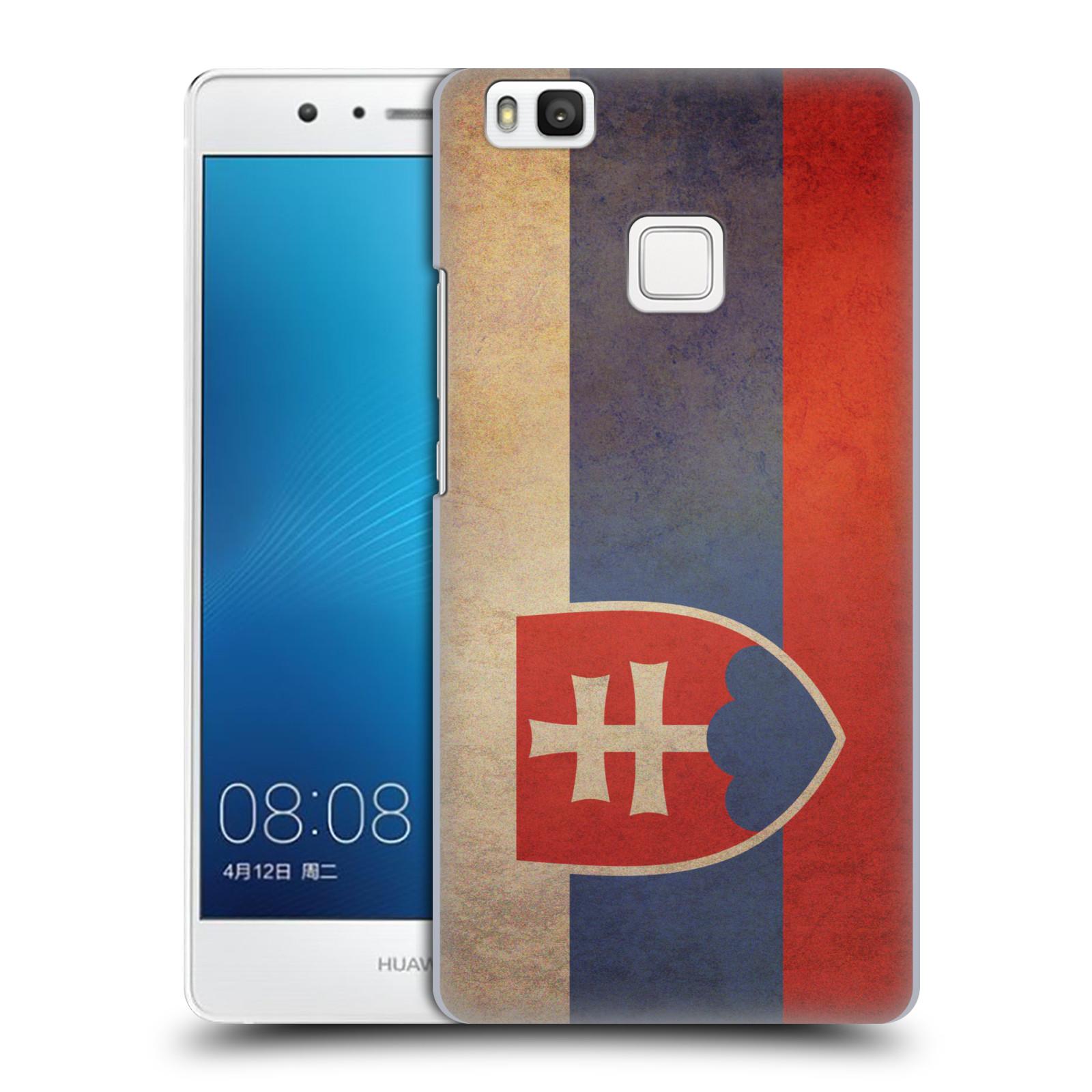 Plastové pouzdro na mobil Huawei P9 Lite HEAD CASE VLAJKA SLOVENSKO