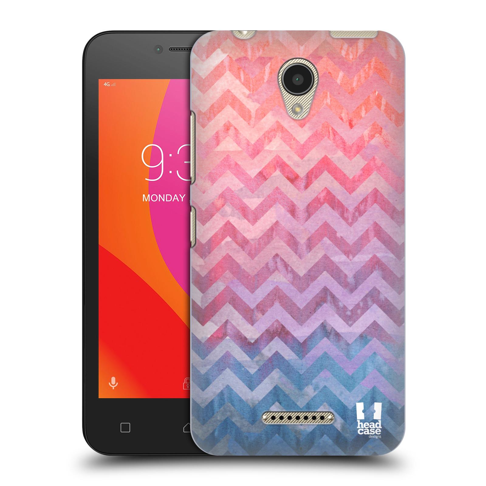 Plastové pouzdro na mobil Lenovo B - Head Case - Pink Chevron (Plastový kryt či obal na mobilní telefon Lenovo B s motivem Pink Chevron)
