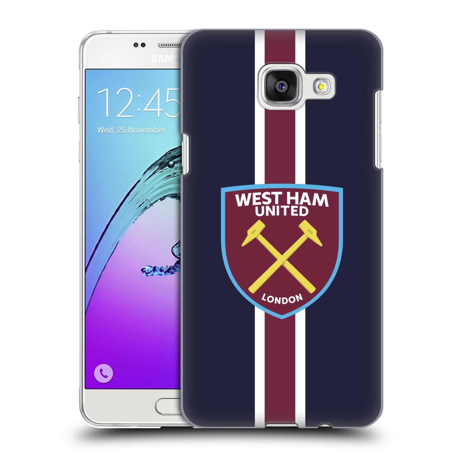 Plastové pouzdro na mobil Samsung Galaxy A5 (2016) - Head Case - West Ham United - Pruhy