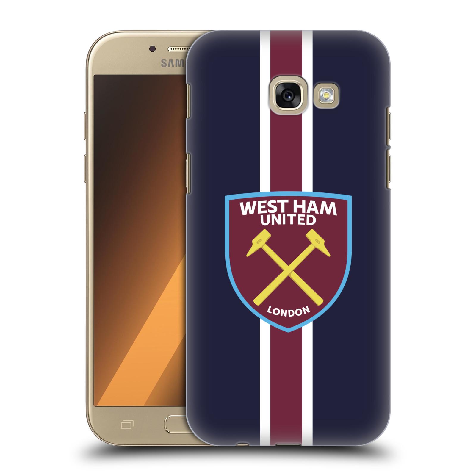 Plastové pouzdro na mobil Samsung Galaxy A5 (2017) - Head Case - West Ham United - Pruhy