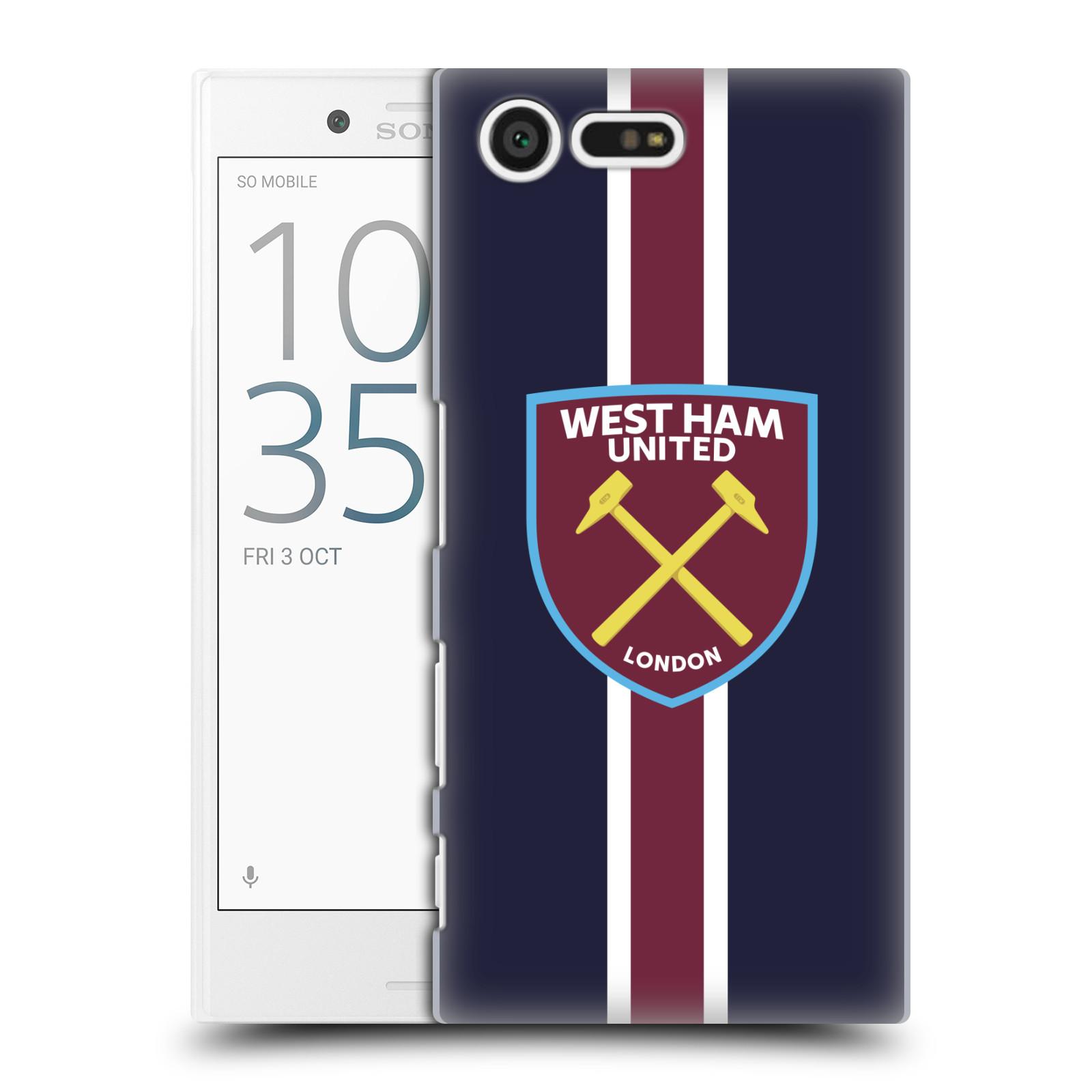 Plastové pouzdro na mobil Sony Xperia X Compact - Head Case - West Ham United - Pruhy