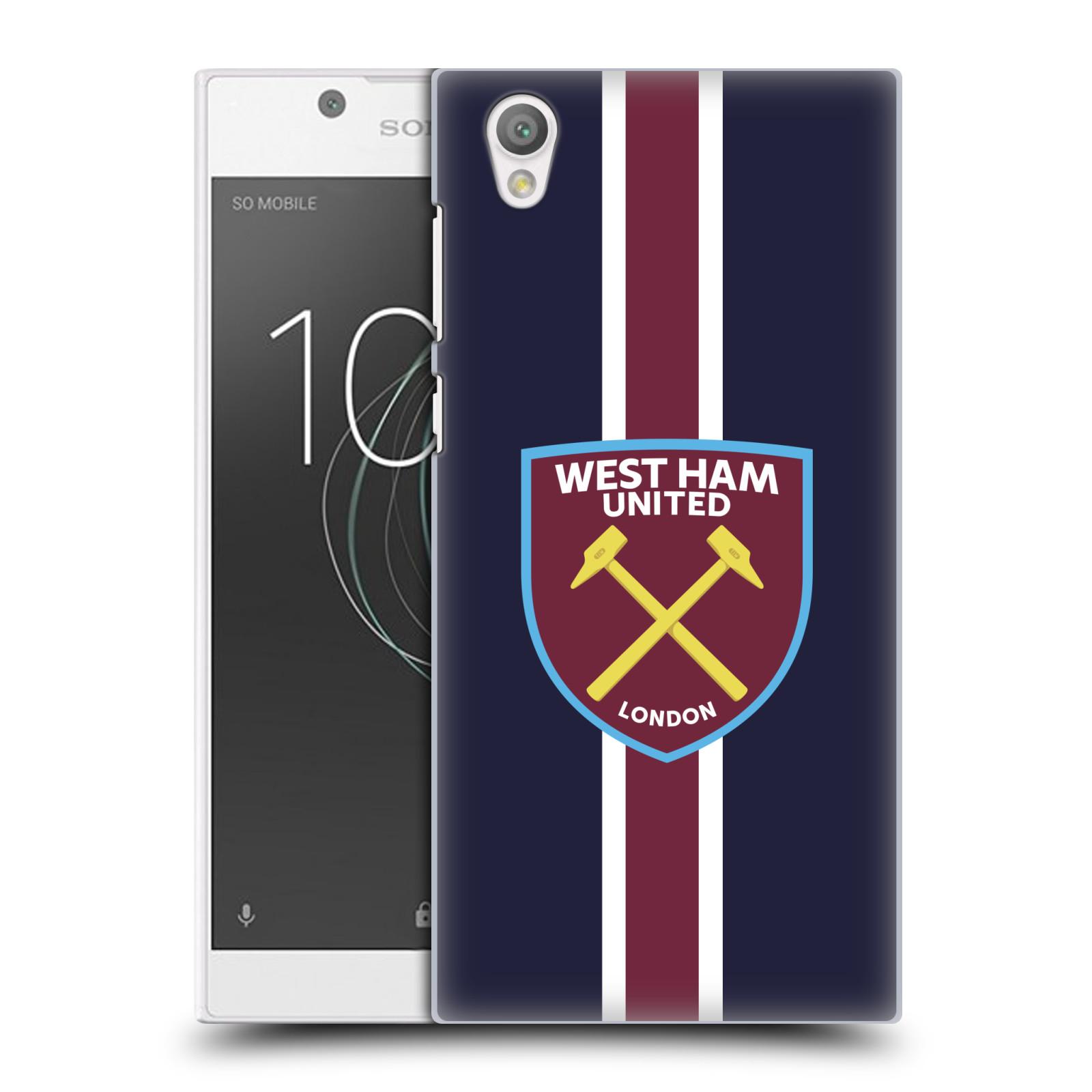 Plastové pouzdro na mobil Sony Xperia L1 - Head Case - West Ham United - Pruhy
