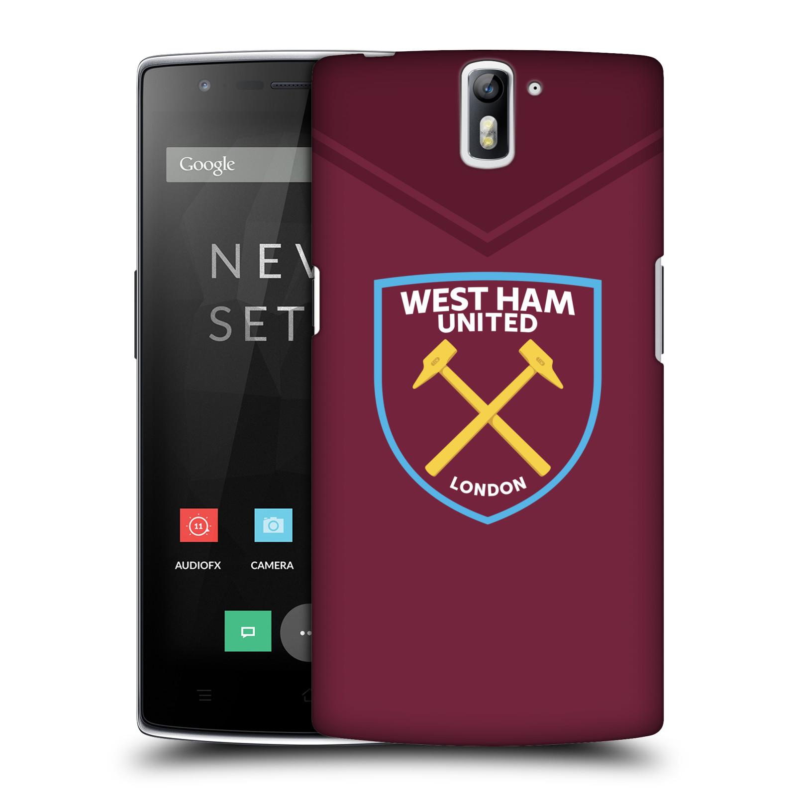 Plastové pouzdro na mobil OnePlus One - Head Case - West Ham United - Logo
