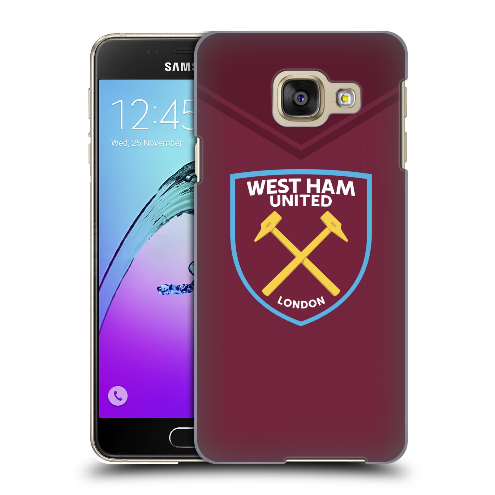 Plastové pouzdro na mobil Samsung Galaxy A3 (2016) - Head Case - West Ham United - Logo