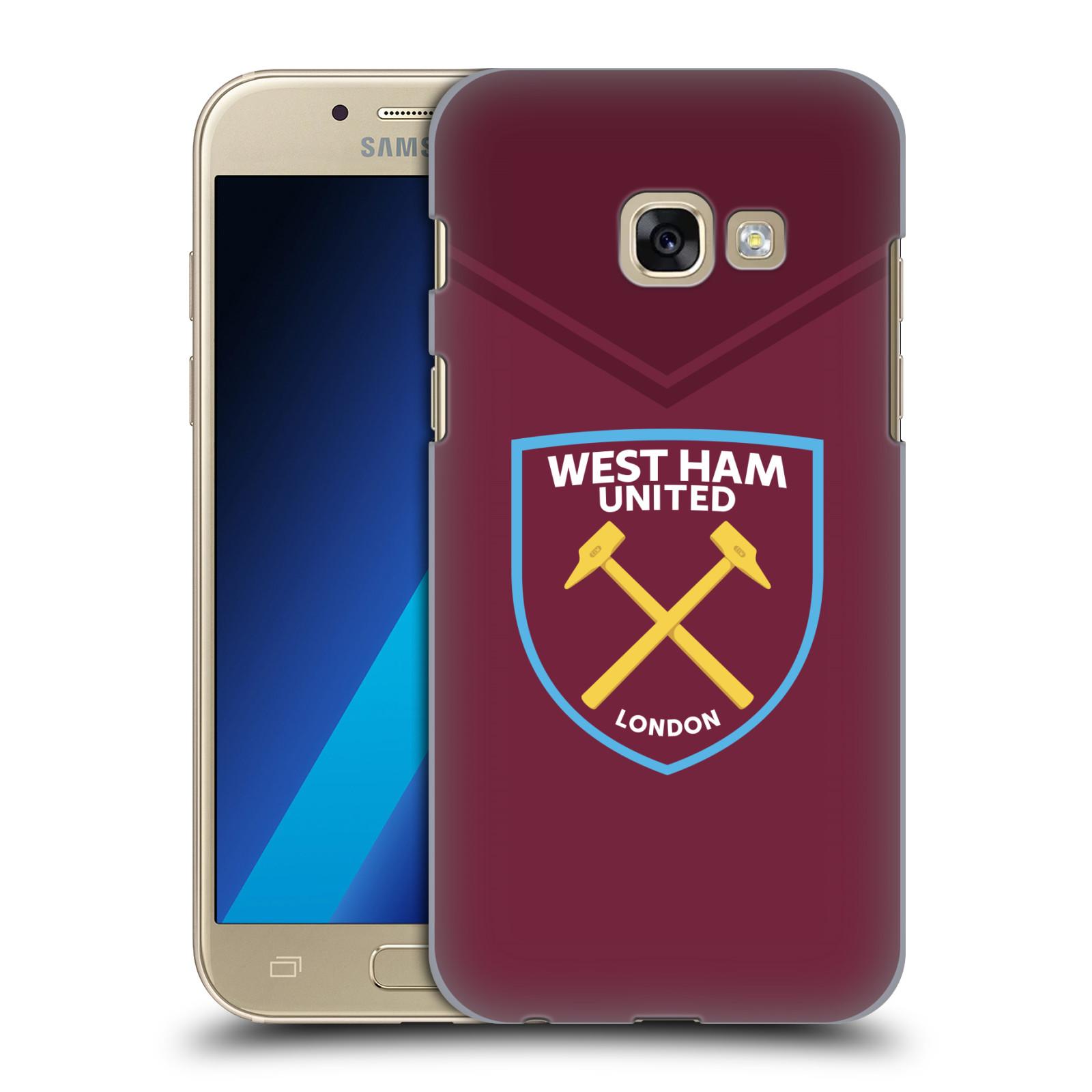 Plastové pouzdro na mobil Samsung Galaxy A3 (2017) - Head Case - West Ham United - Logo