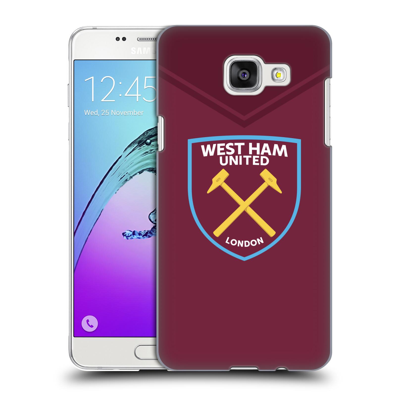 Plastové pouzdro na mobil Samsung Galaxy A5 (2016) - Head Case - West Ham United - Logo