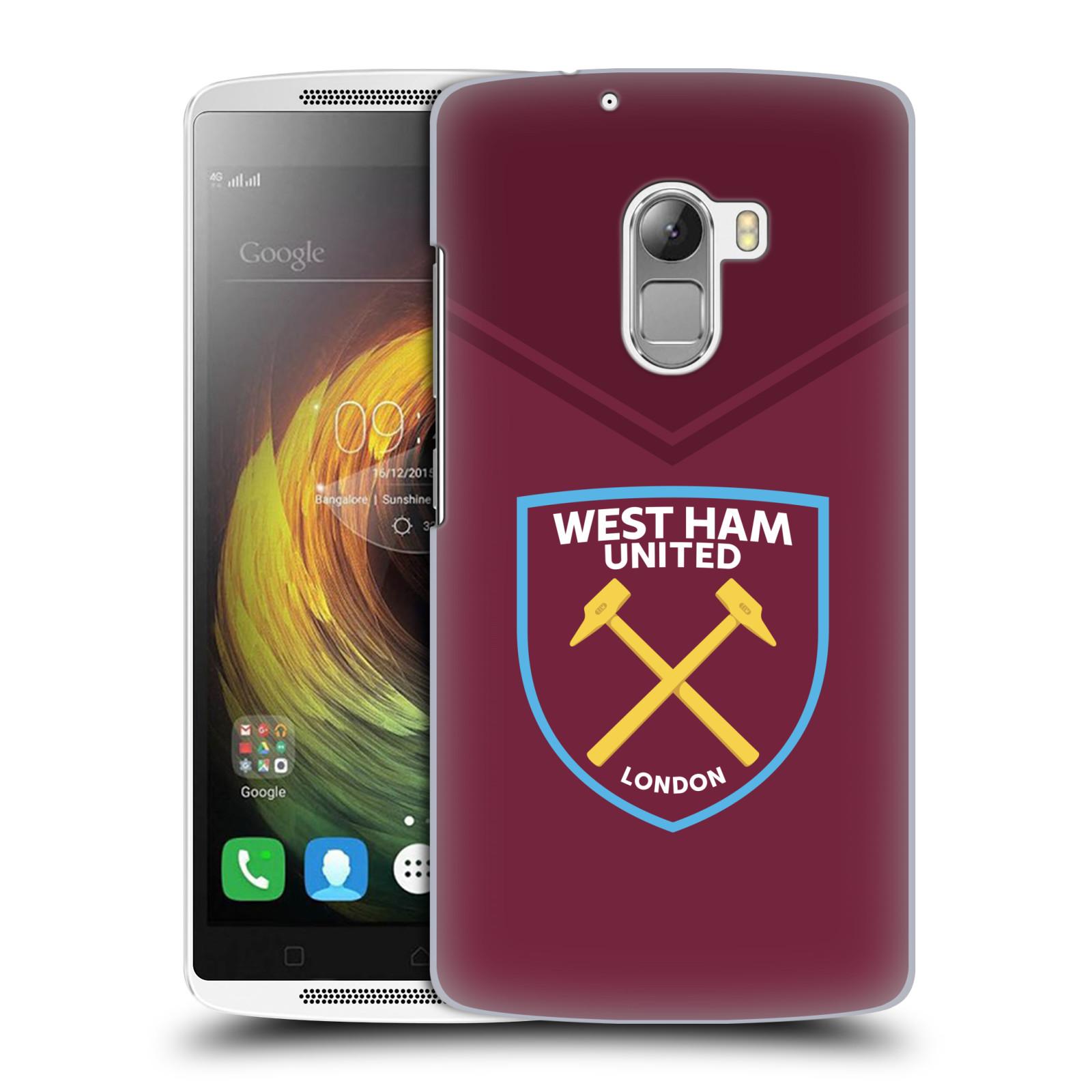 Plastové pouzdro na mobil Lenovo A7010 - Head Case - West Ham United - Logo