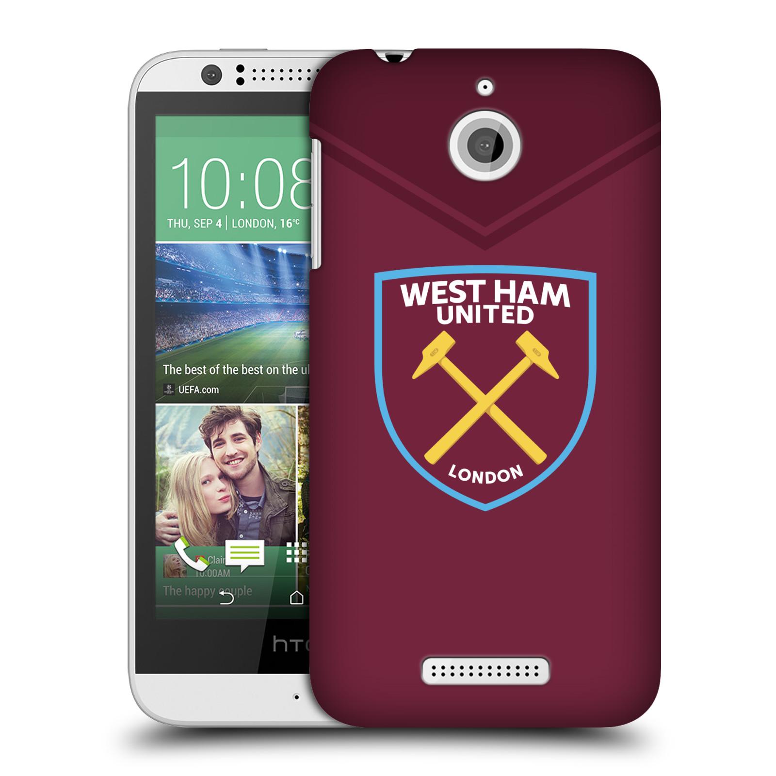 Plastové pouzdro na mobil HTC Desire 510 - Head Case - West Ham United - Logo