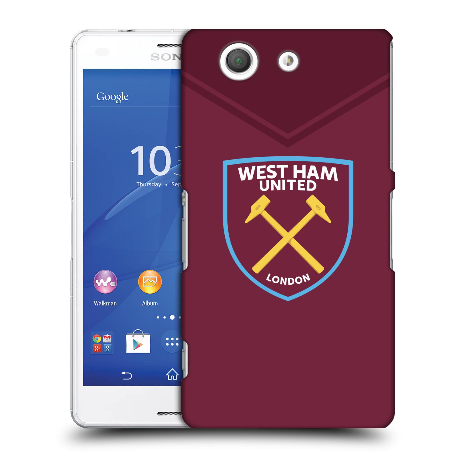Plastové pouzdro na mobil Sony Xperia Z3 Compact D5803 - Head Case - West Ham United - Logo