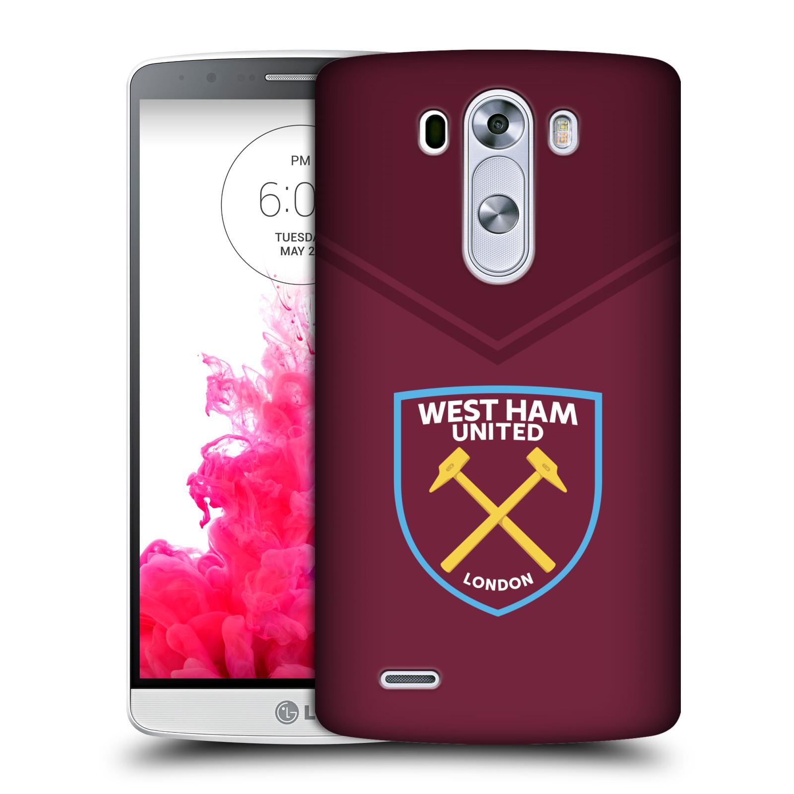 Plastové pouzdro na mobil LG G3 - Head Case - West Ham United - Logo