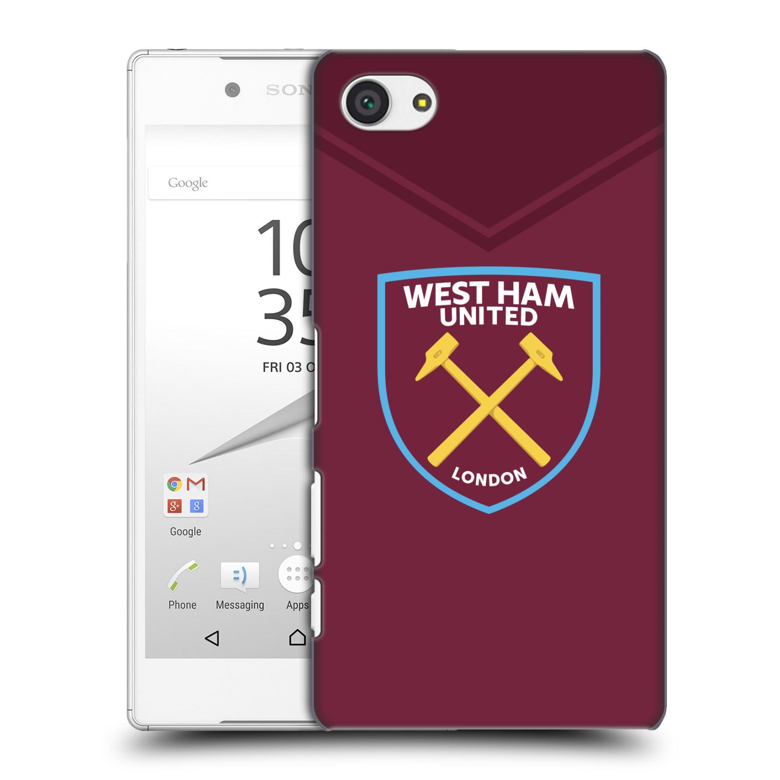 Plastové pouzdro na mobil Sony Xperia Z5 Compact - Head Case - West Ham United - Logo