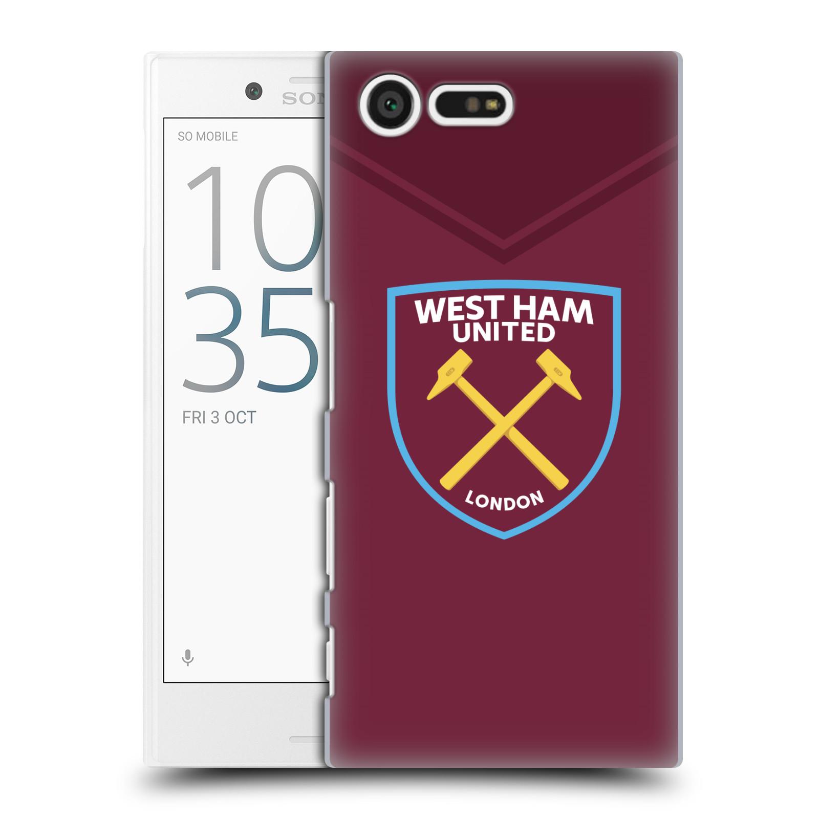 Plastové pouzdro na mobil Sony Xperia X Compact - Head Case - West Ham United - Logo