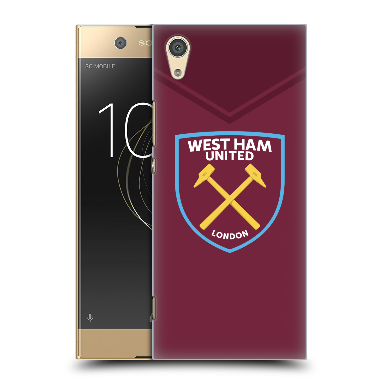Plastové pouzdro na mobil Sony Xperia XA1 - Head Case - West Ham United - Logo