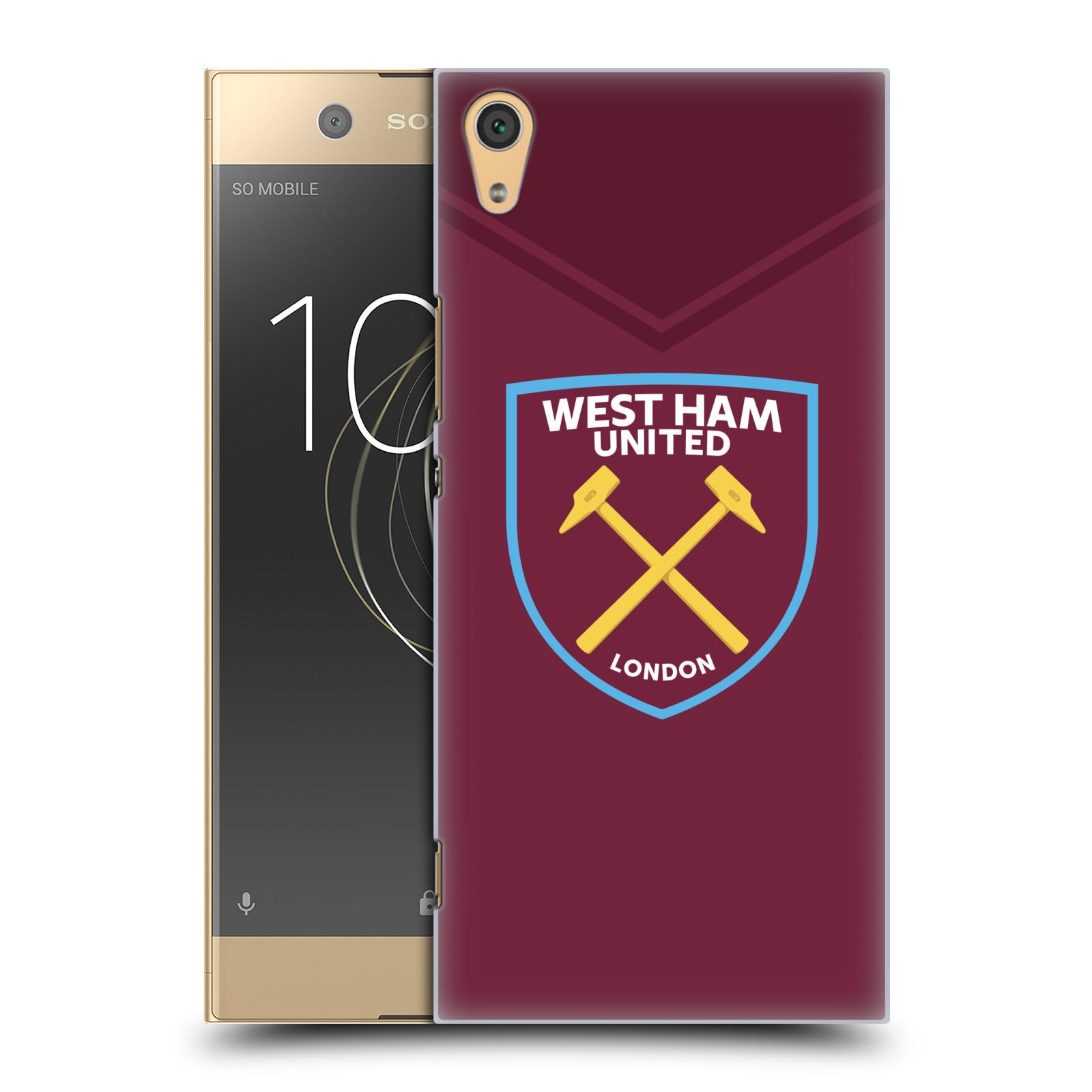 Plastové pouzdro na mobil Sony Xperia XA1 Ultra - Head Case - West Ham United - Logo