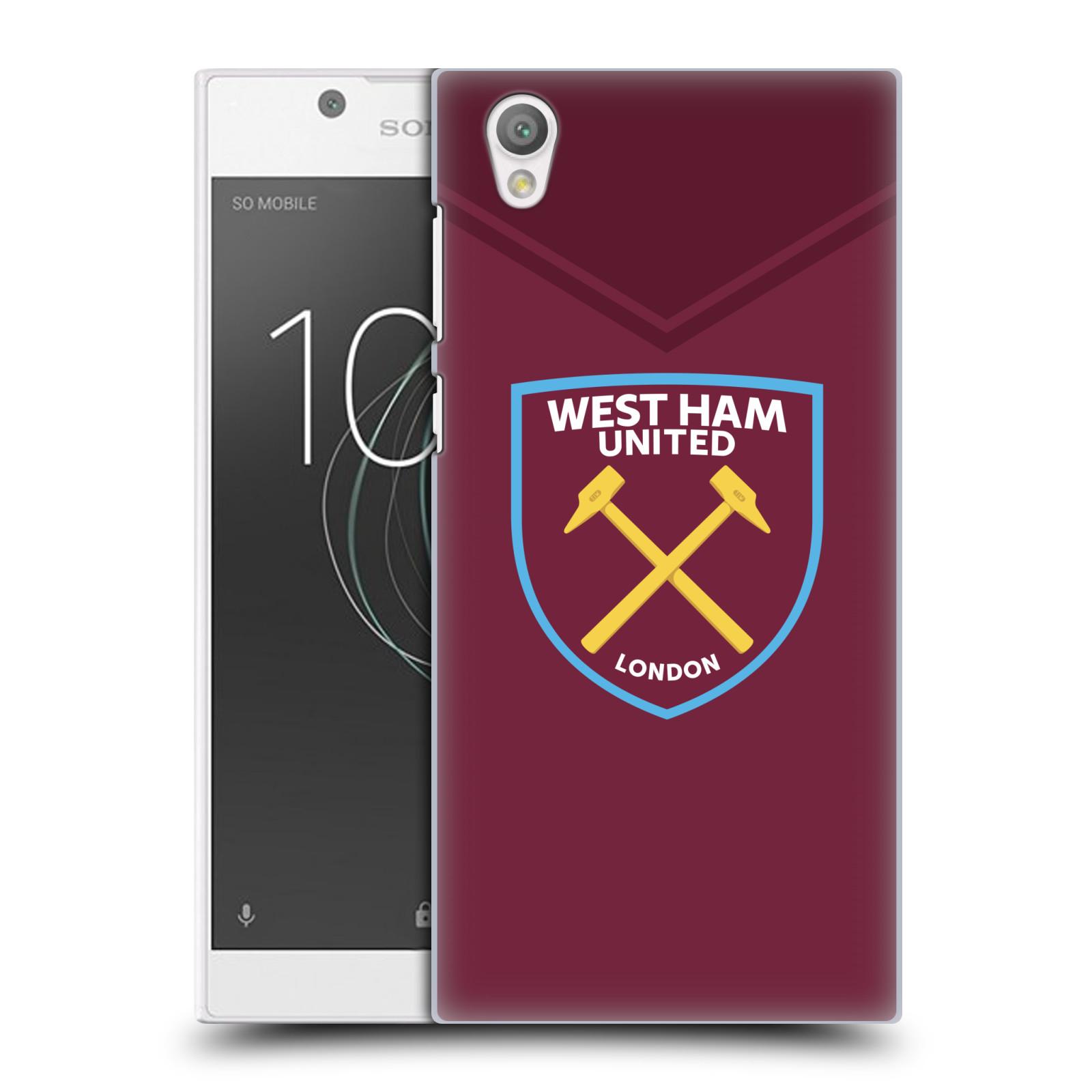 Plastové pouzdro na mobil Sony Xperia L1 - Head Case - West Ham United - Logo