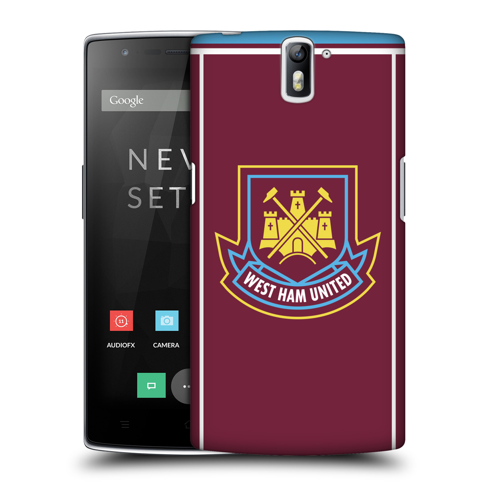 Plastové pouzdro na mobil OnePlus One - Head Case - West Ham United - Retro znak