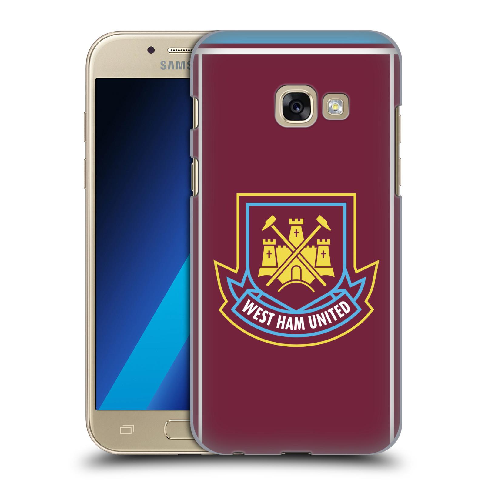 Plastové pouzdro na mobil Samsung Galaxy A3 (2017) - Head Case - West Ham United - Retro znak