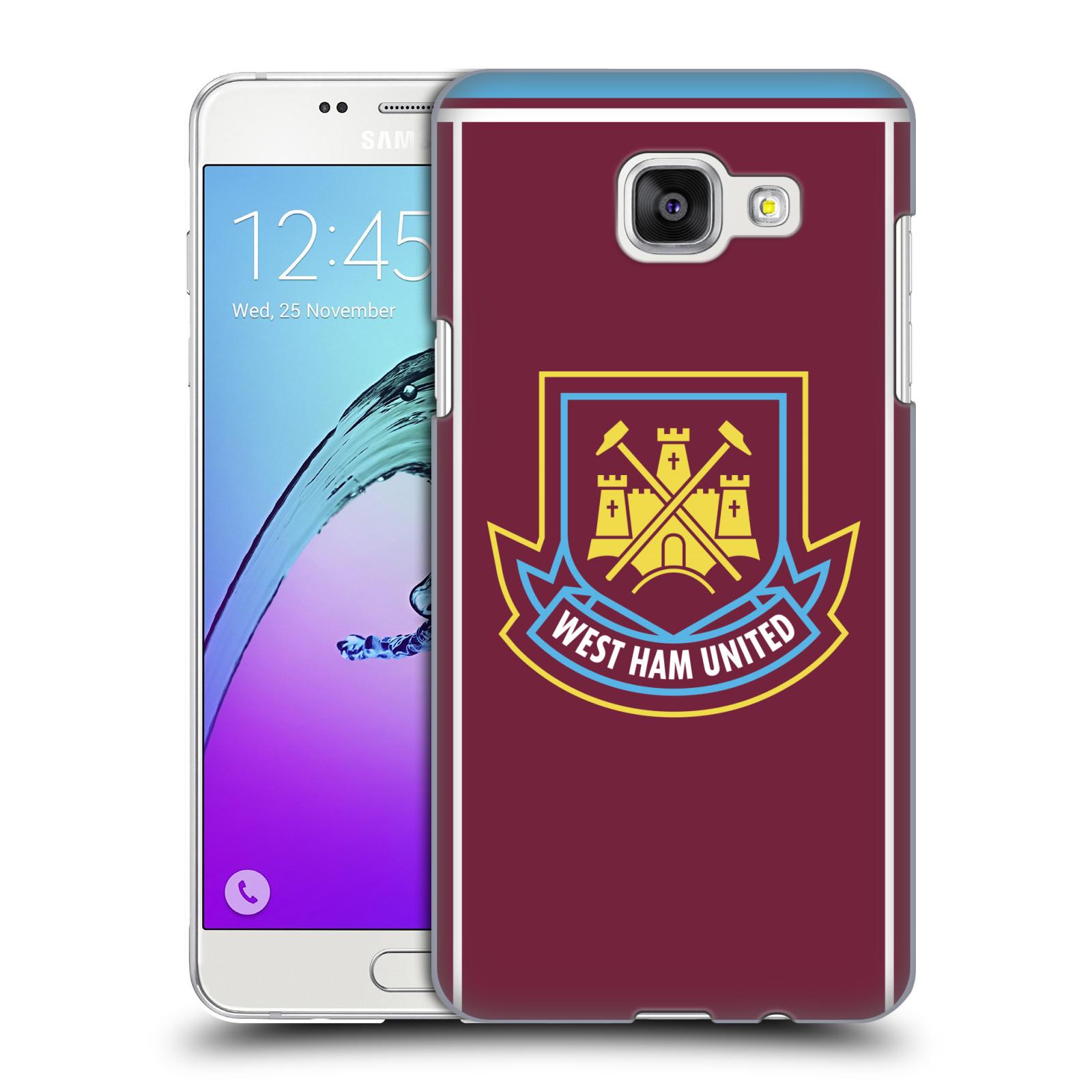 Plastové pouzdro na mobil Samsung Galaxy A5 (2016) - Head Case - West Ham United - Retro znak
