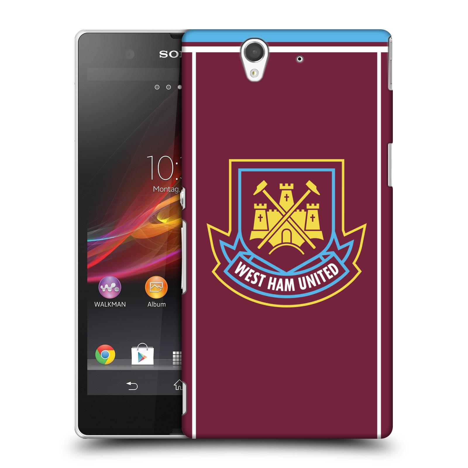 Plastové pouzdro na mobil Sony Xperia Z C6603 - Head Case - West Ham United - Retro znak