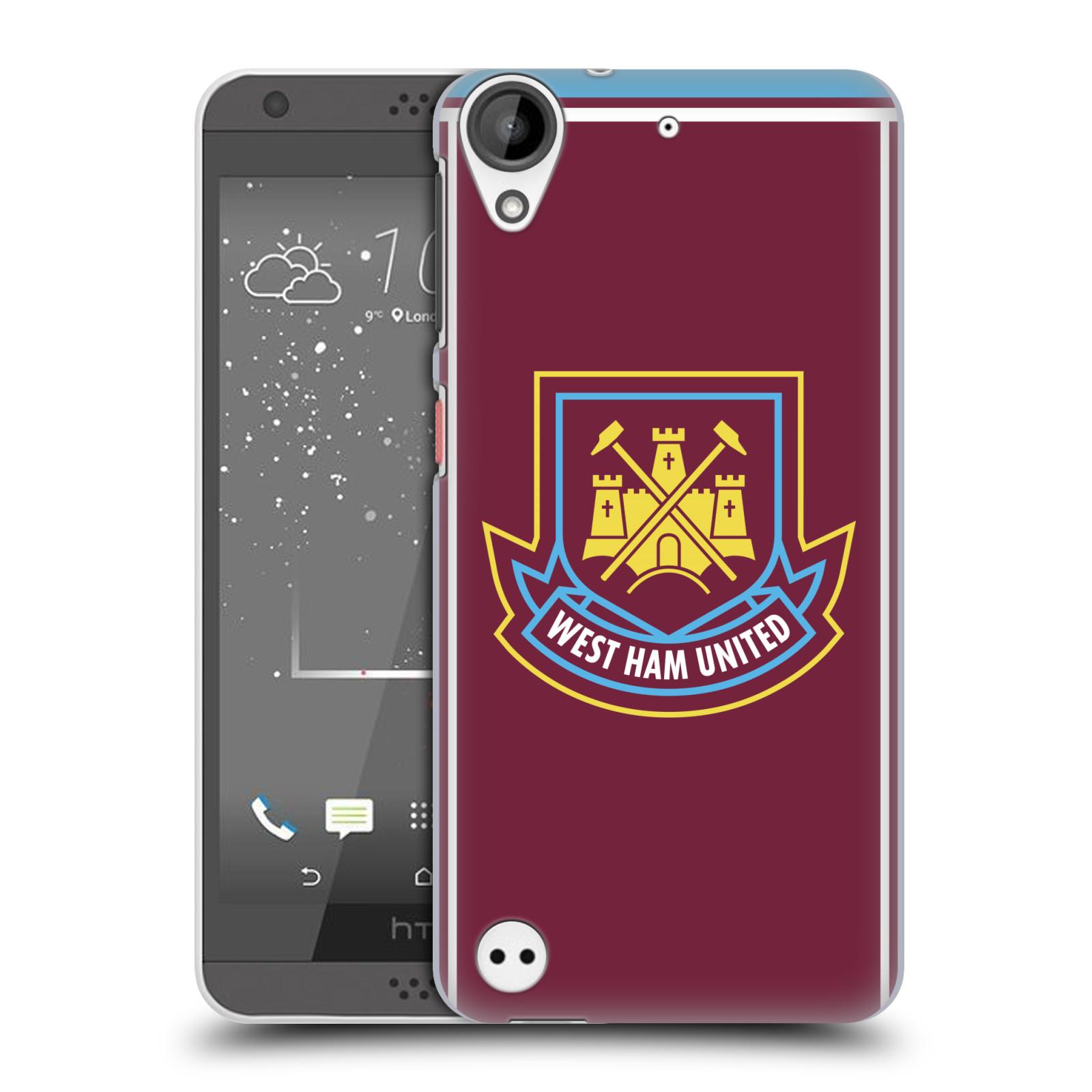 Plastové pouzdro na mobil HTC Desire 530 - Head Case - West Ham United - Retro znak