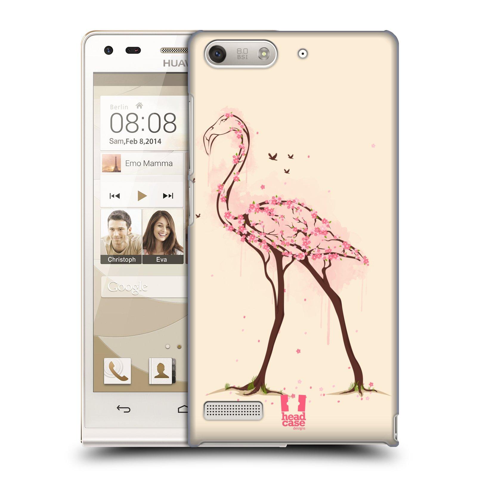 Plastové pouzdro na mobil Huawei Ascend G6 HEAD CASE BLOOM PLAMEŇÁK (Kryt či obal na mobilní telefon Huawei Ascend G6 bez LTE)