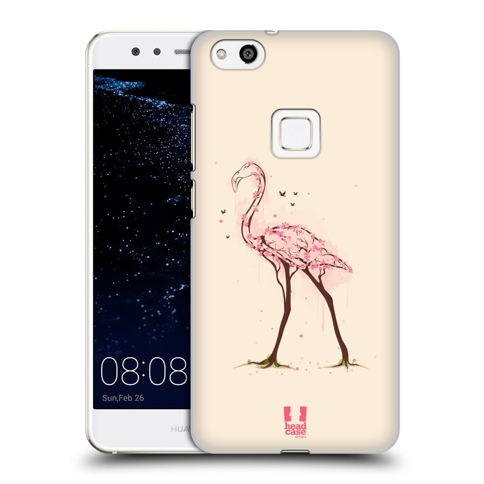 Plastové pouzdro na mobil Huawei P10 Lite Head Case - BLOOM PLAMEŇÁK
