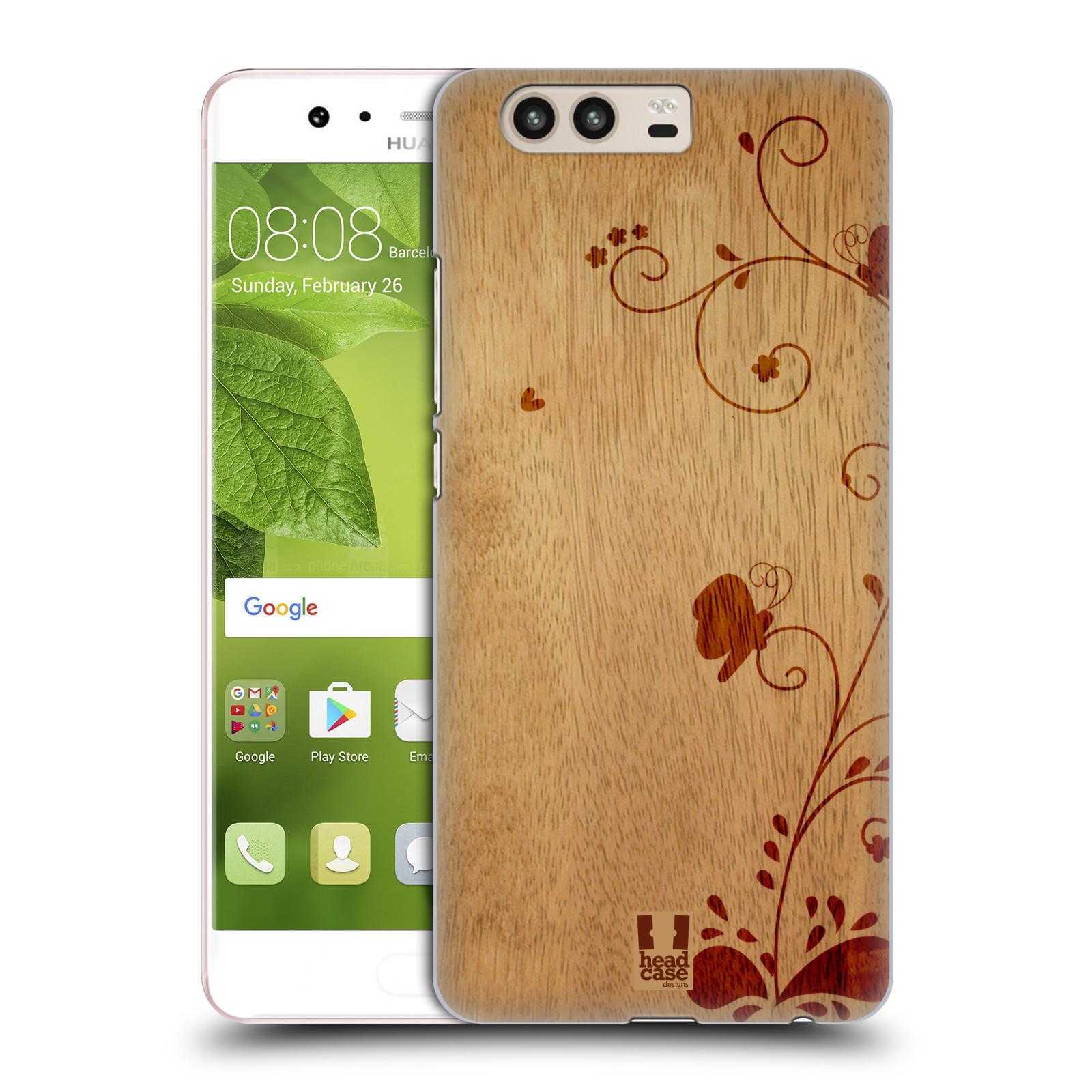 Plastové pouzdro na mobil Huawei P10 - Head Case WOODART SWIRL