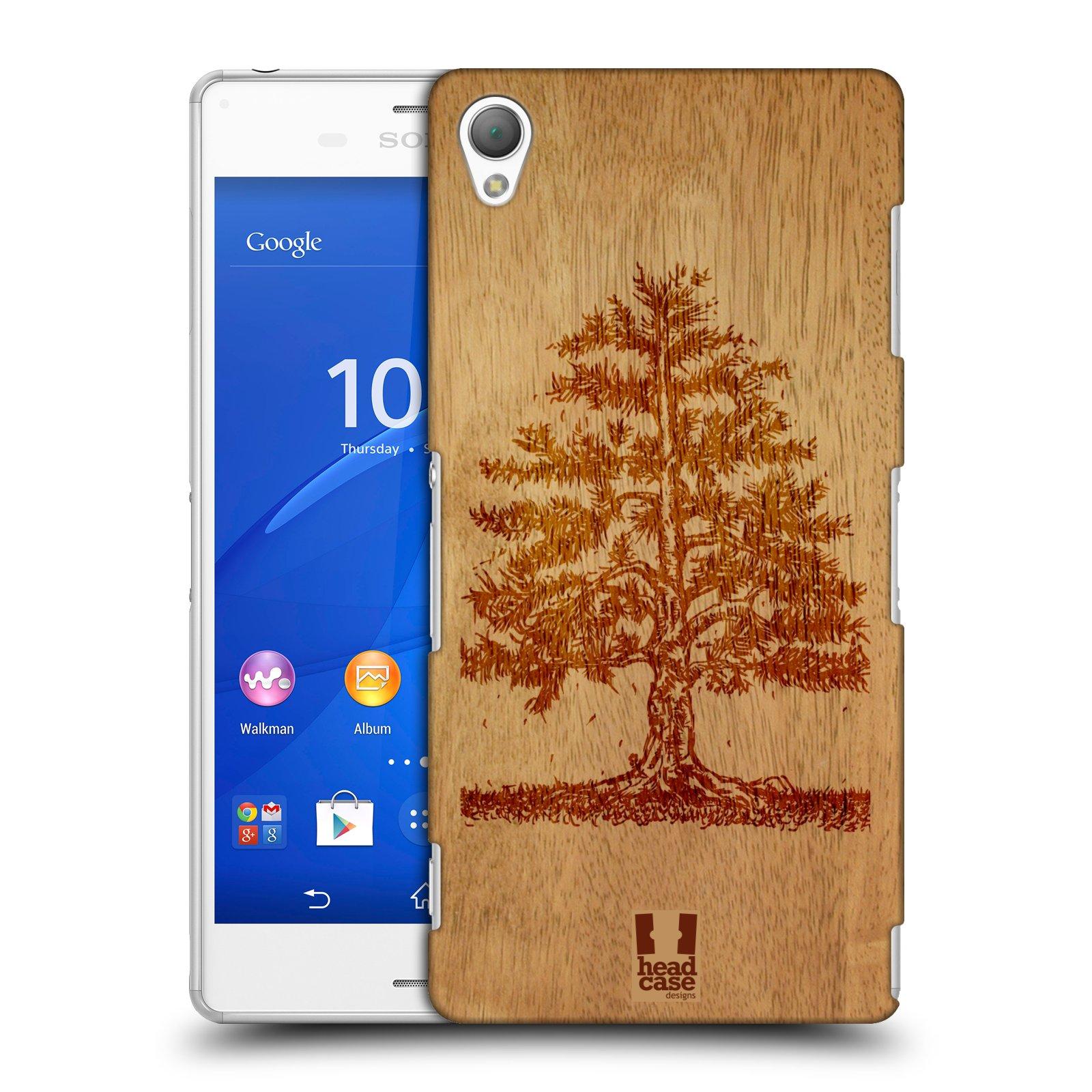 Plastové pouzdro na mobil Sony Xperia Z3 D6603 HEAD CASE WOODART TREE