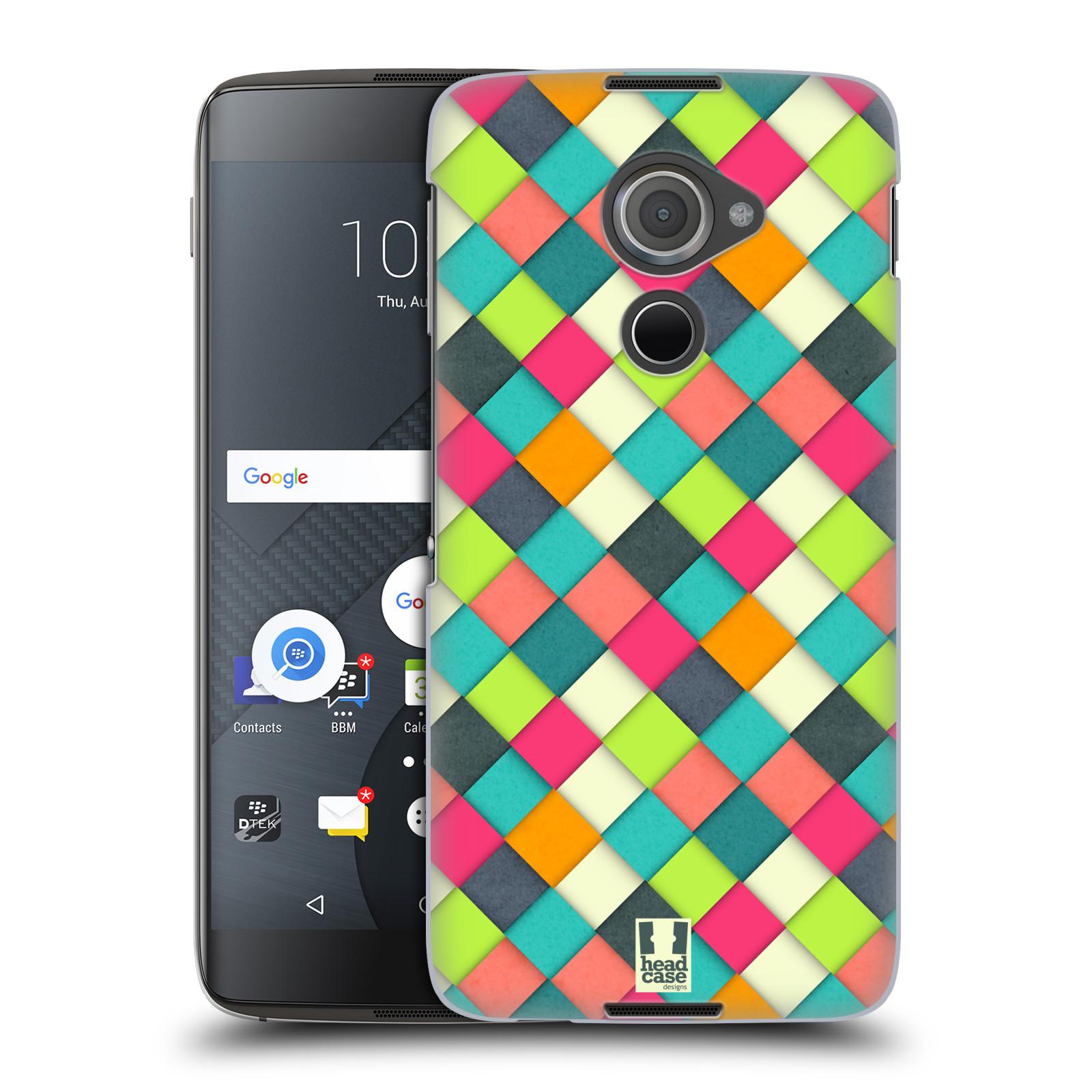 Plastové pouzdro na mobil Blackberry DTEK60 (Argon) - Head Case WOVEN (Plastový kryt či obal na mobilní telefon Blackberry DTEK60 (Argon))