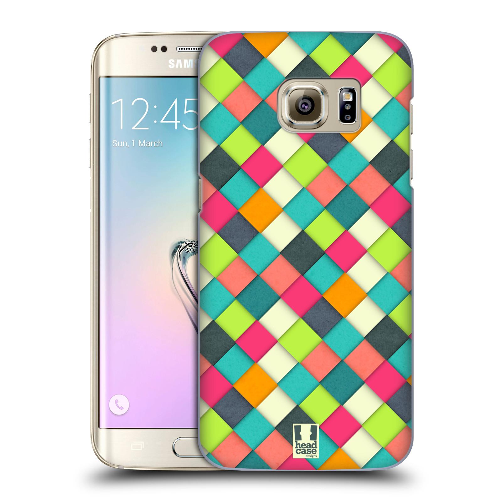 Plastové pouzdro na mobil Samsung Galaxy S7 Edge HEAD CASE WOVEN (Kryt či obal na mobilní telefon Samsung Galaxy S7 Edge SM-G935F)
